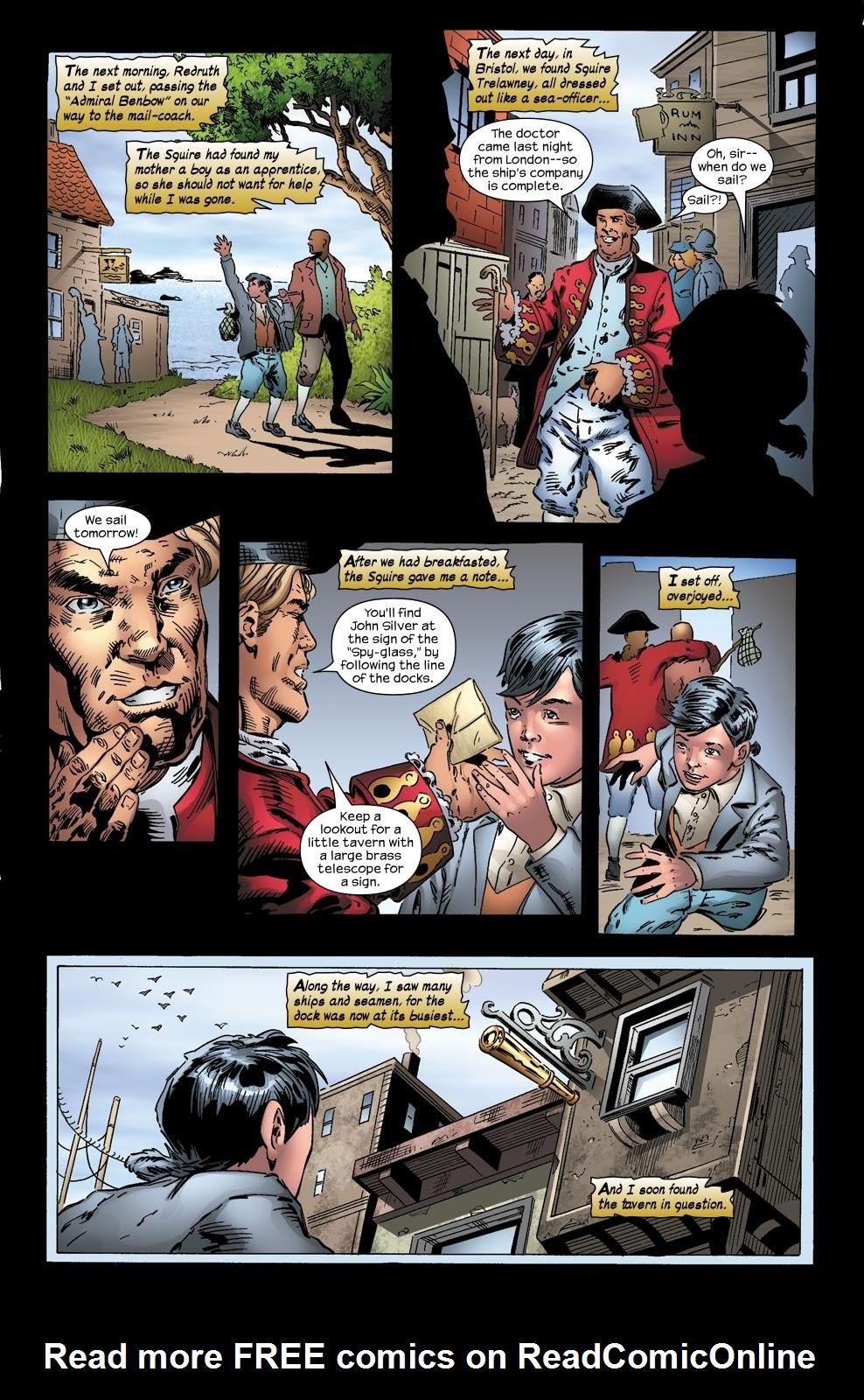 Read online Treasure Island comic -  Issue #2 - 10