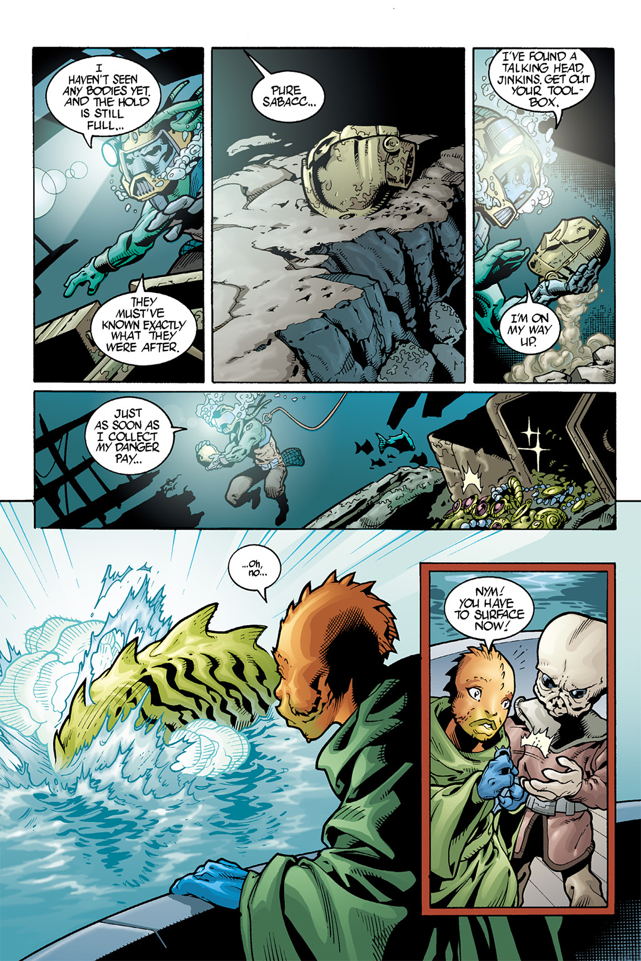Read online Star Wars Omnibus comic -  Issue # Vol. 10 - 394