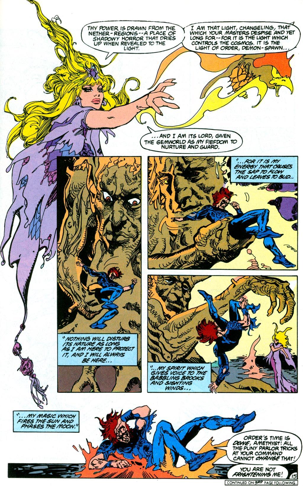 Read online Amethyst (1987) comic -  Issue #2 - 17