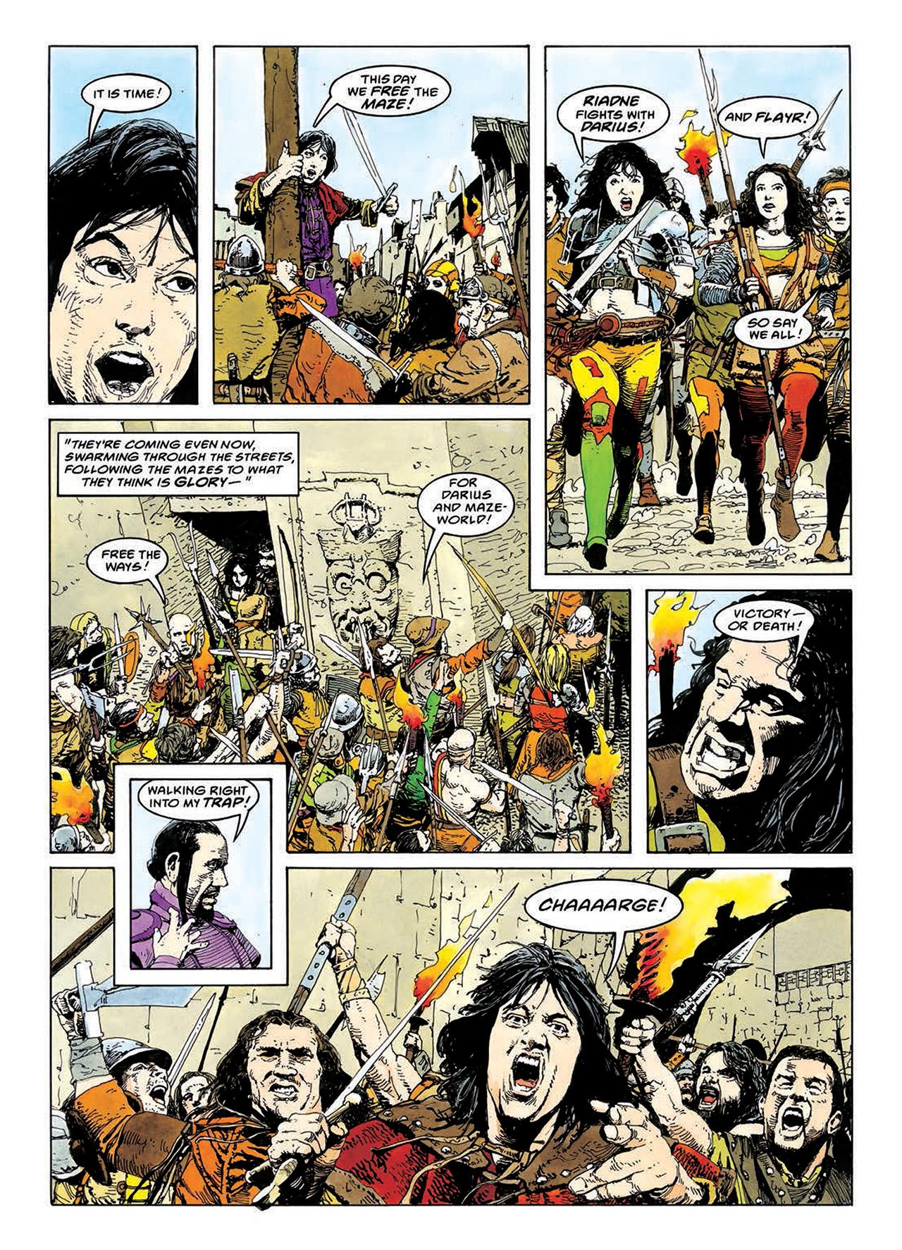 Read online Mazeworld comic -  Issue # TPB - 112