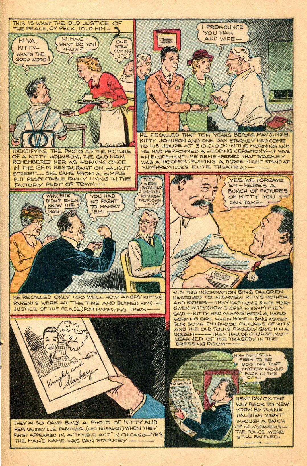 Read online Shadow Comics comic -  Issue #60 - 33