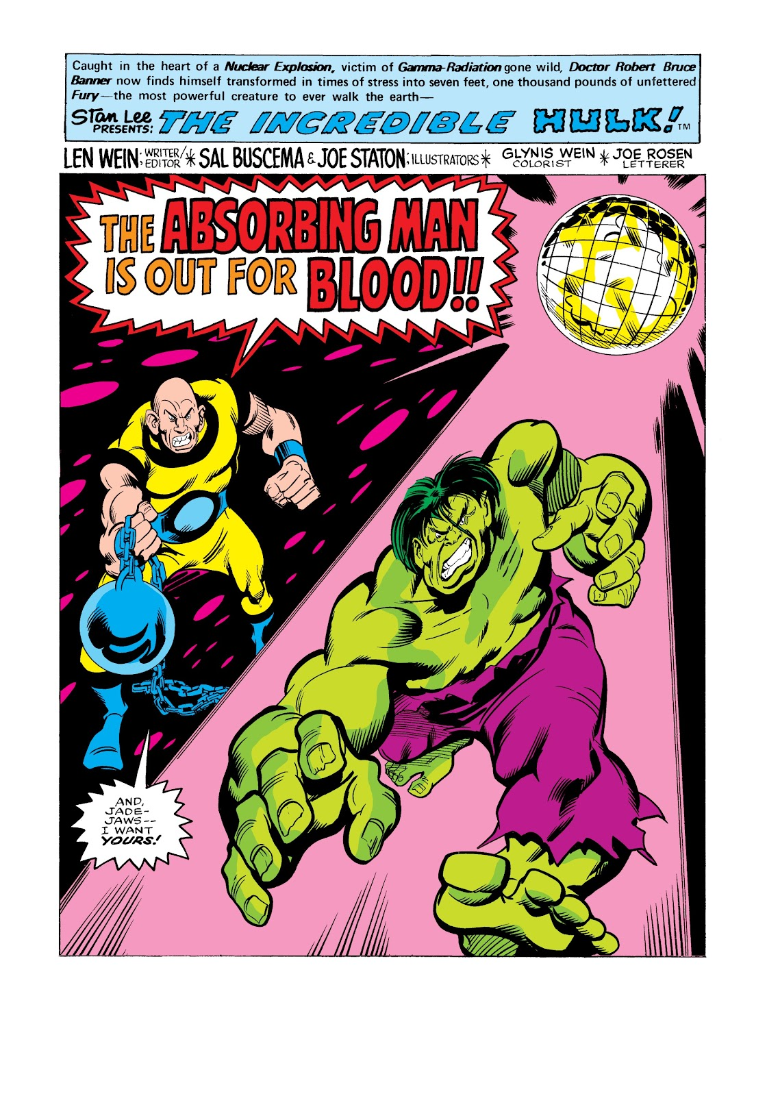 Read online Marvel Masterworks: The Incredible Hulk comic -  Issue # TPB 12 (Part 3) - 65