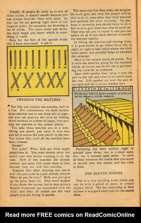 Read online Super-Magician Comics comic -  Issue #45 - 24