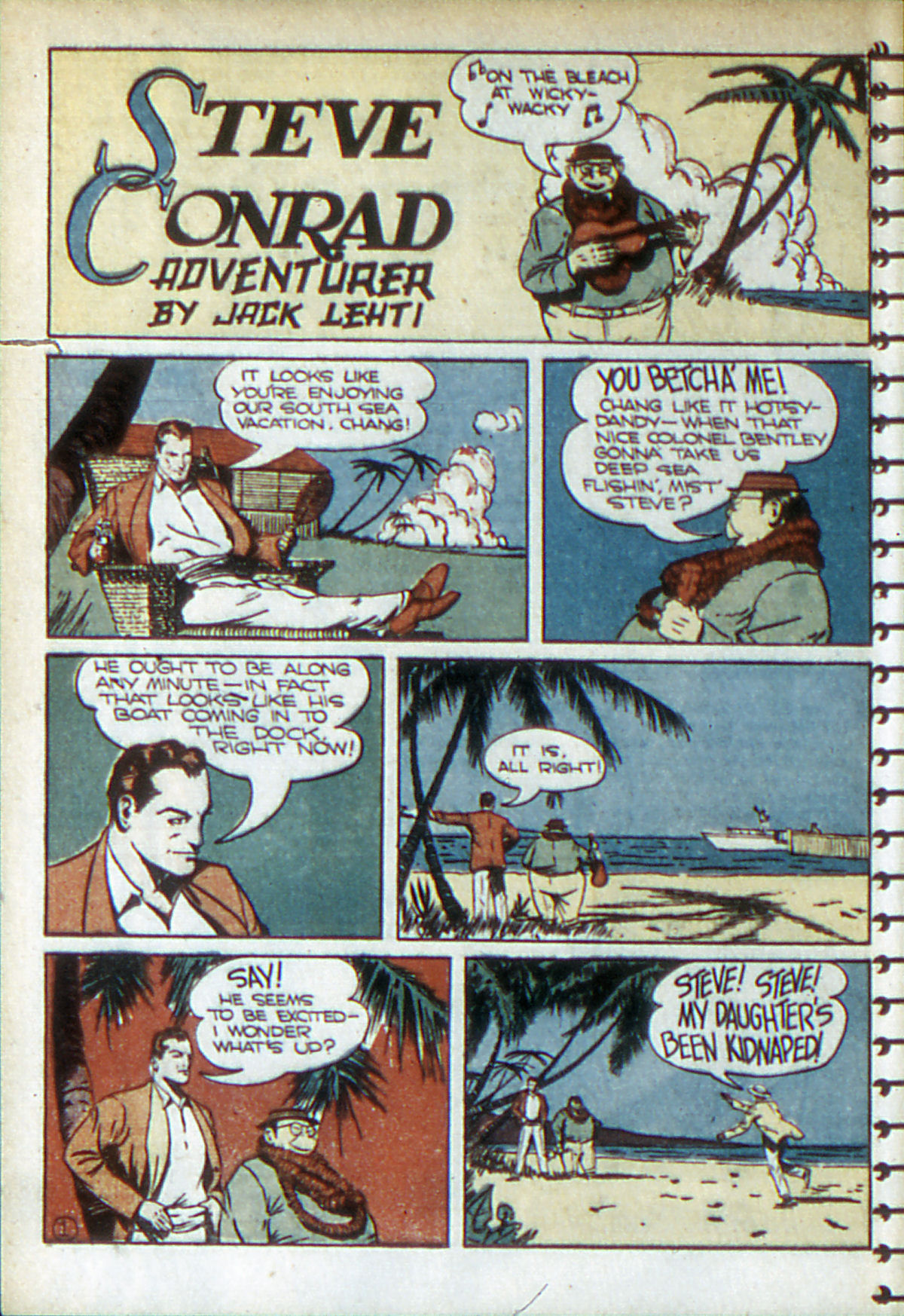 Read online Adventure Comics (1938) comic -  Issue #52 - 29