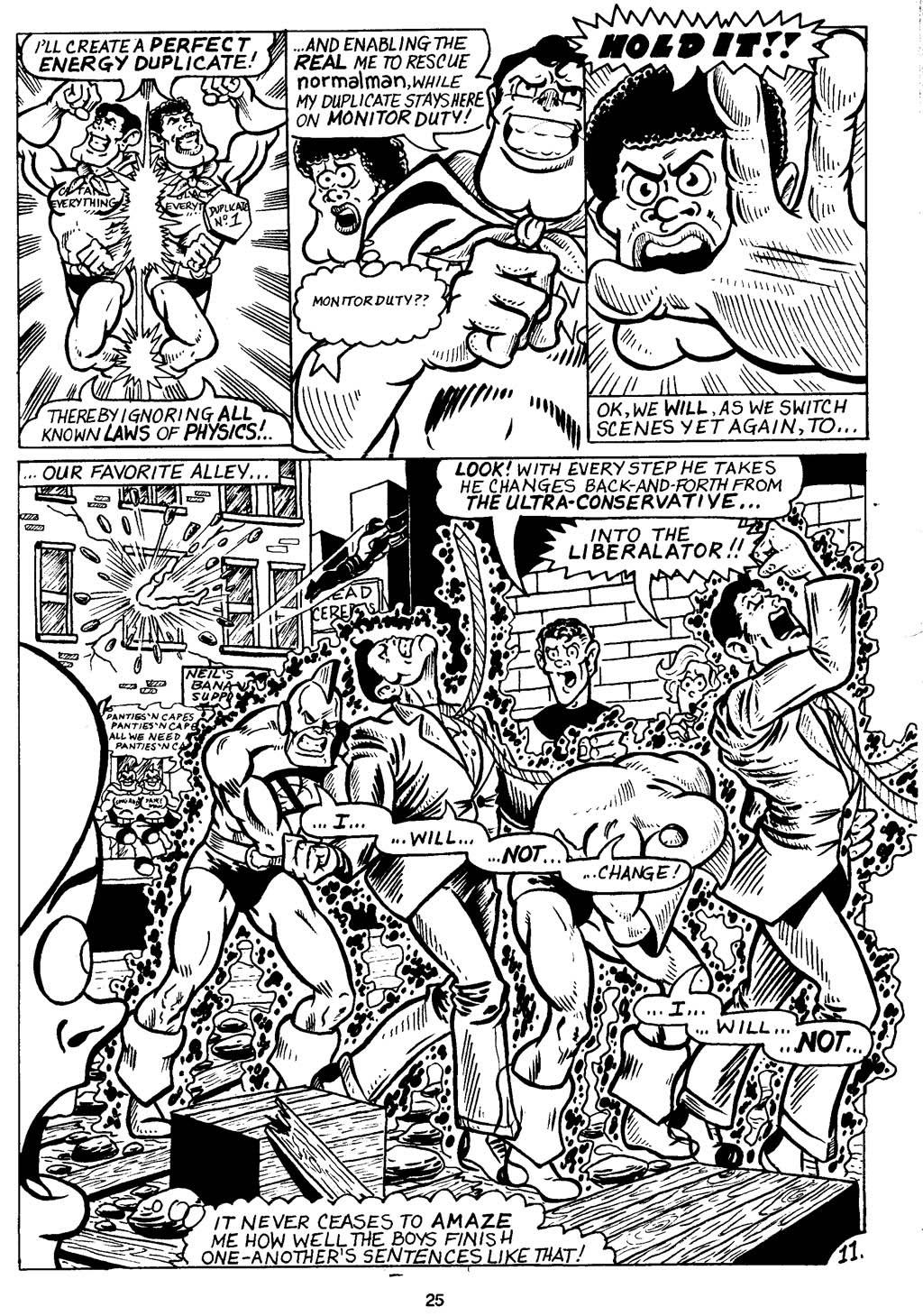 Read online Normalman - The Novel comic -  Issue # TPB (Part 1) - 30