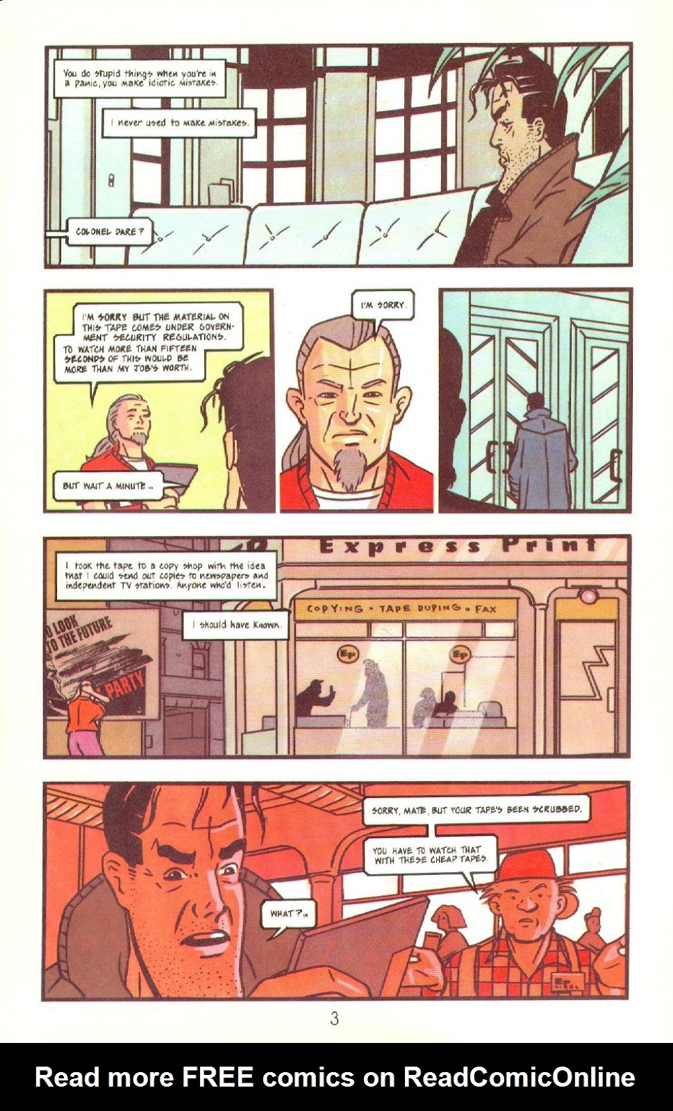 Read online Dare comic -  Issue #4 - 5