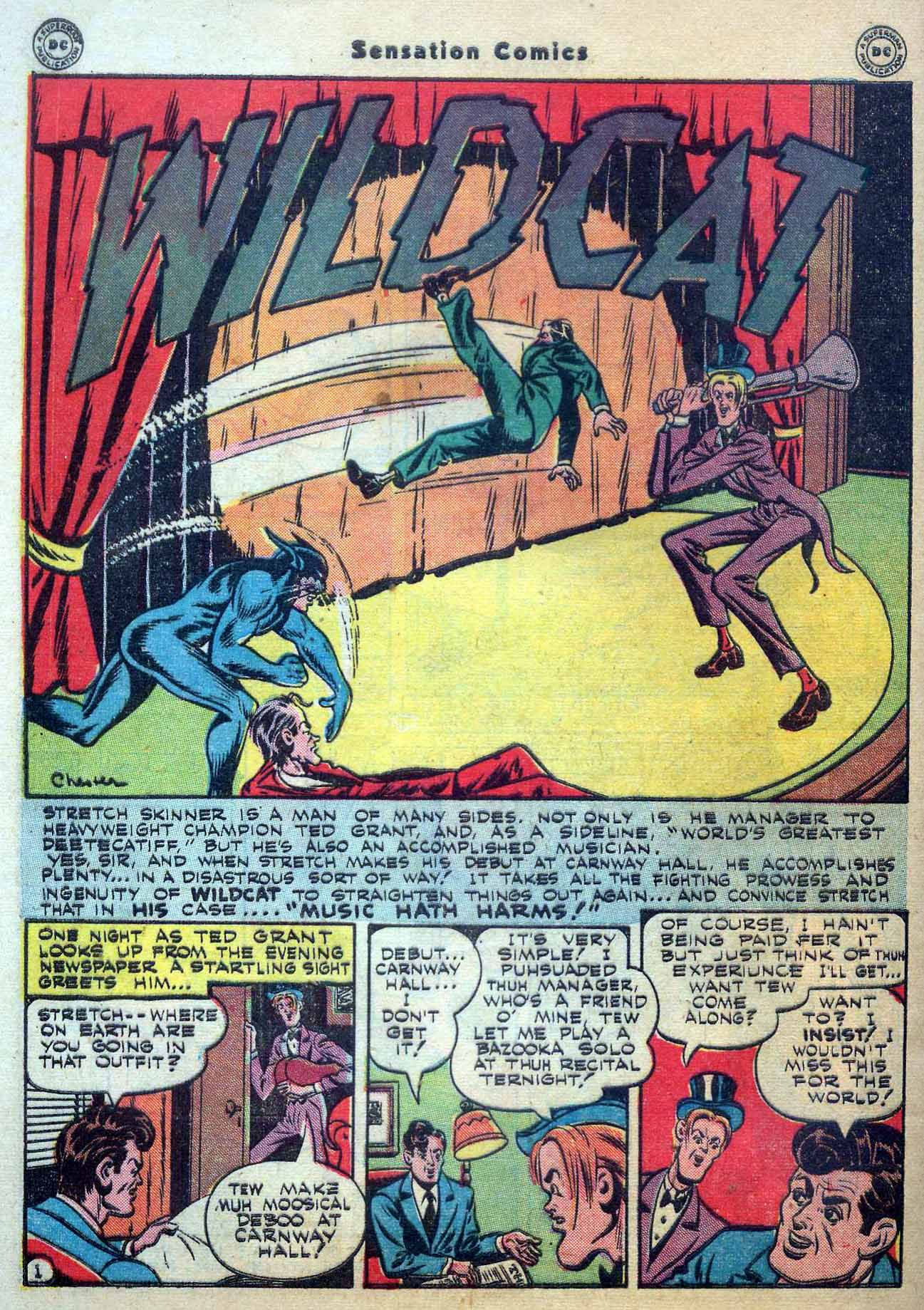 Read online Sensation (Mystery) Comics comic -  Issue #56 - 42