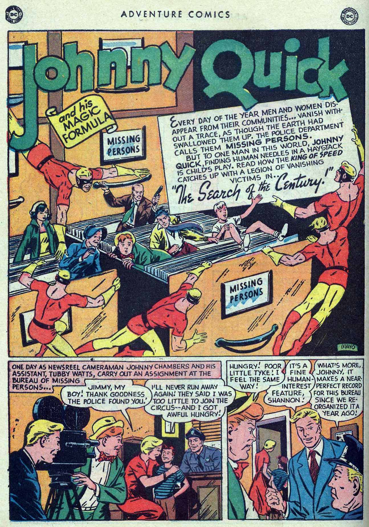 Read online Adventure Comics (1938) comic -  Issue #149 - 42