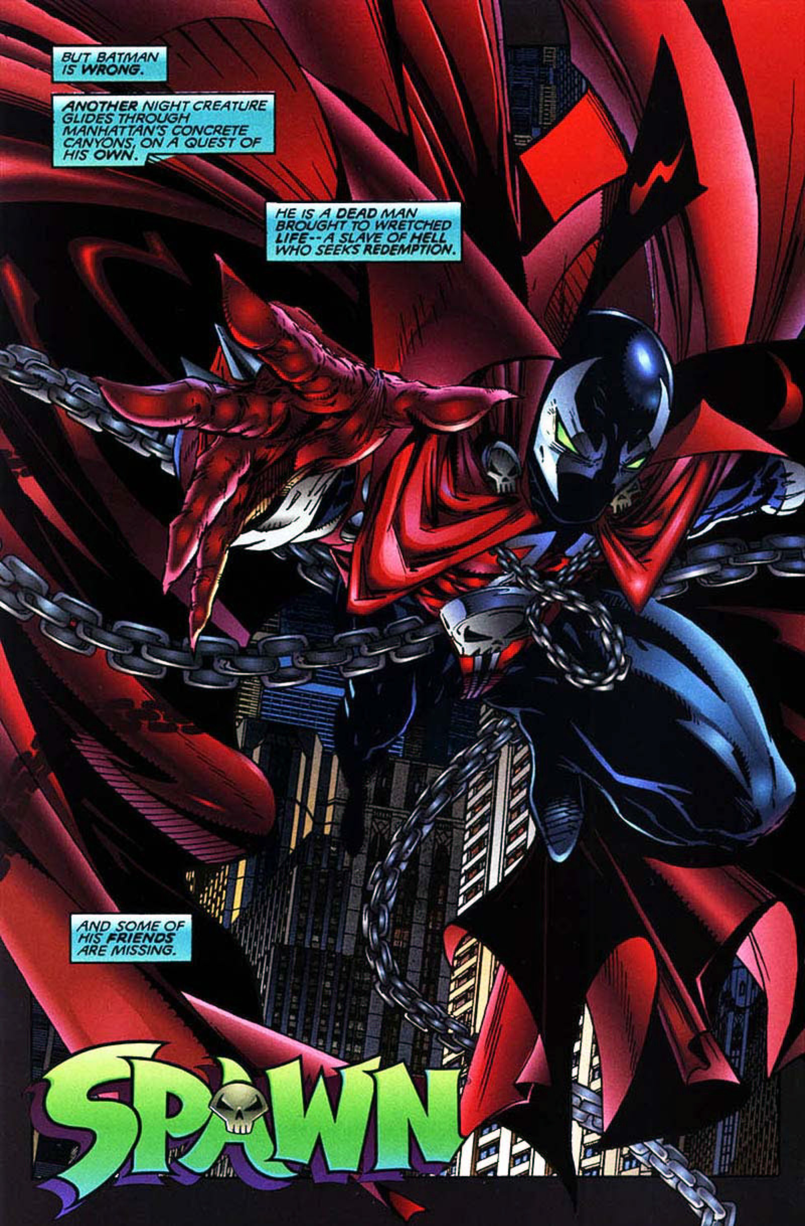 Read online Spawn-Batman comic -  Issue # Full - 14