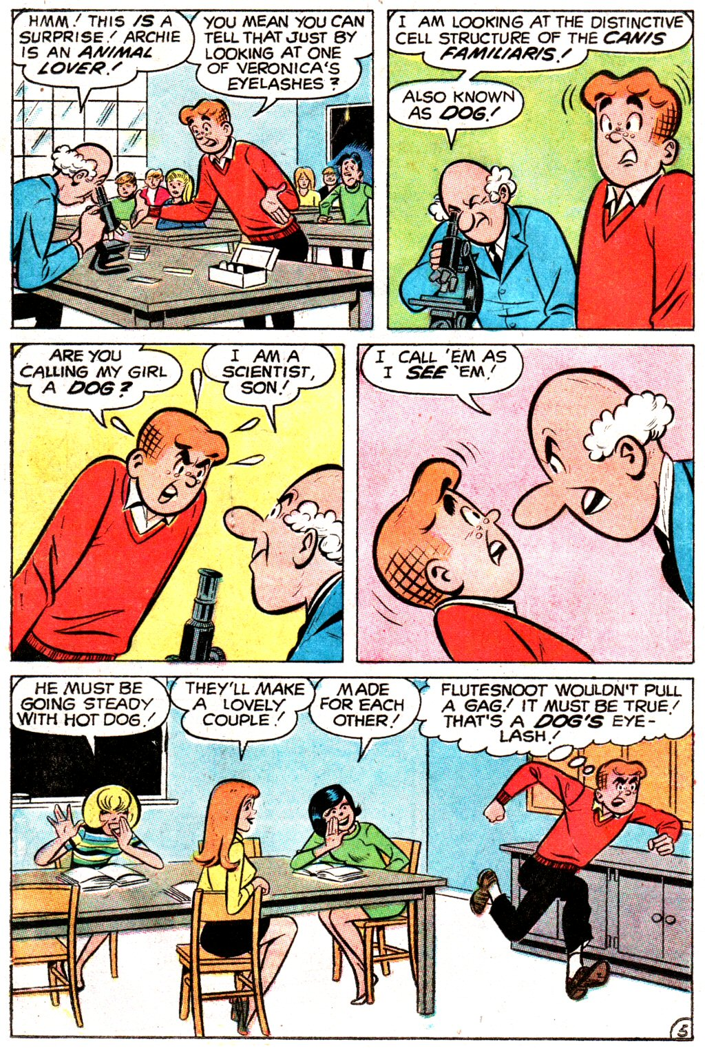 Read online Archie (1960) comic -  Issue #192 - 18