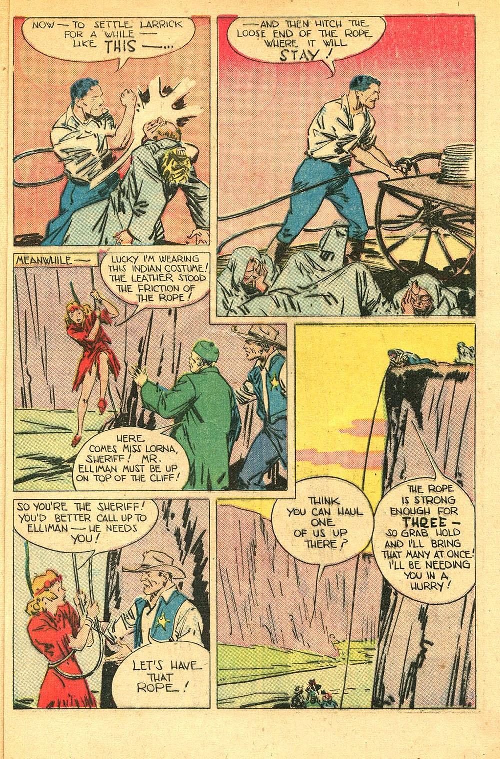 Read online Super-Magician Comics comic -  Issue #56 - 47