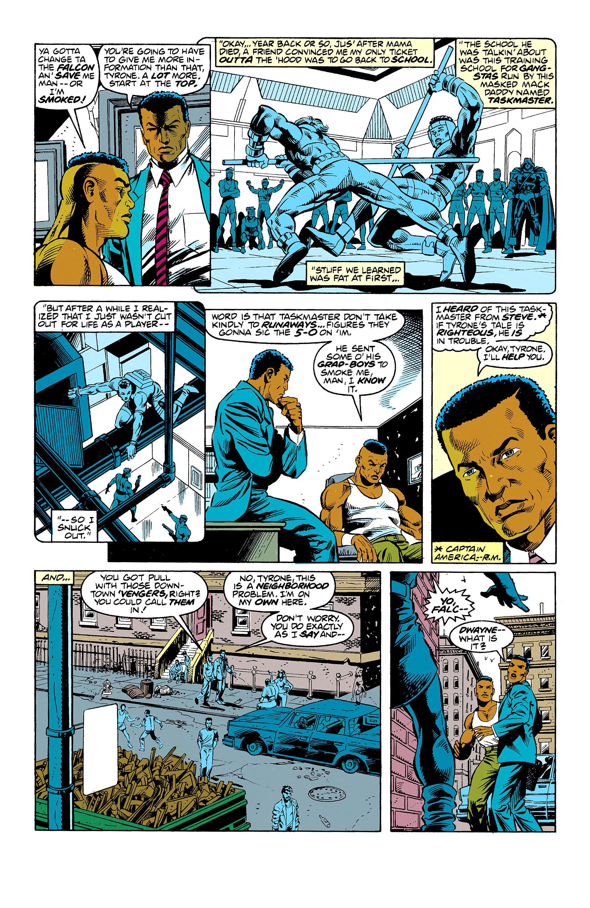 Read online Captain America (1968) comic -  Issue # _Annual 11 - 34