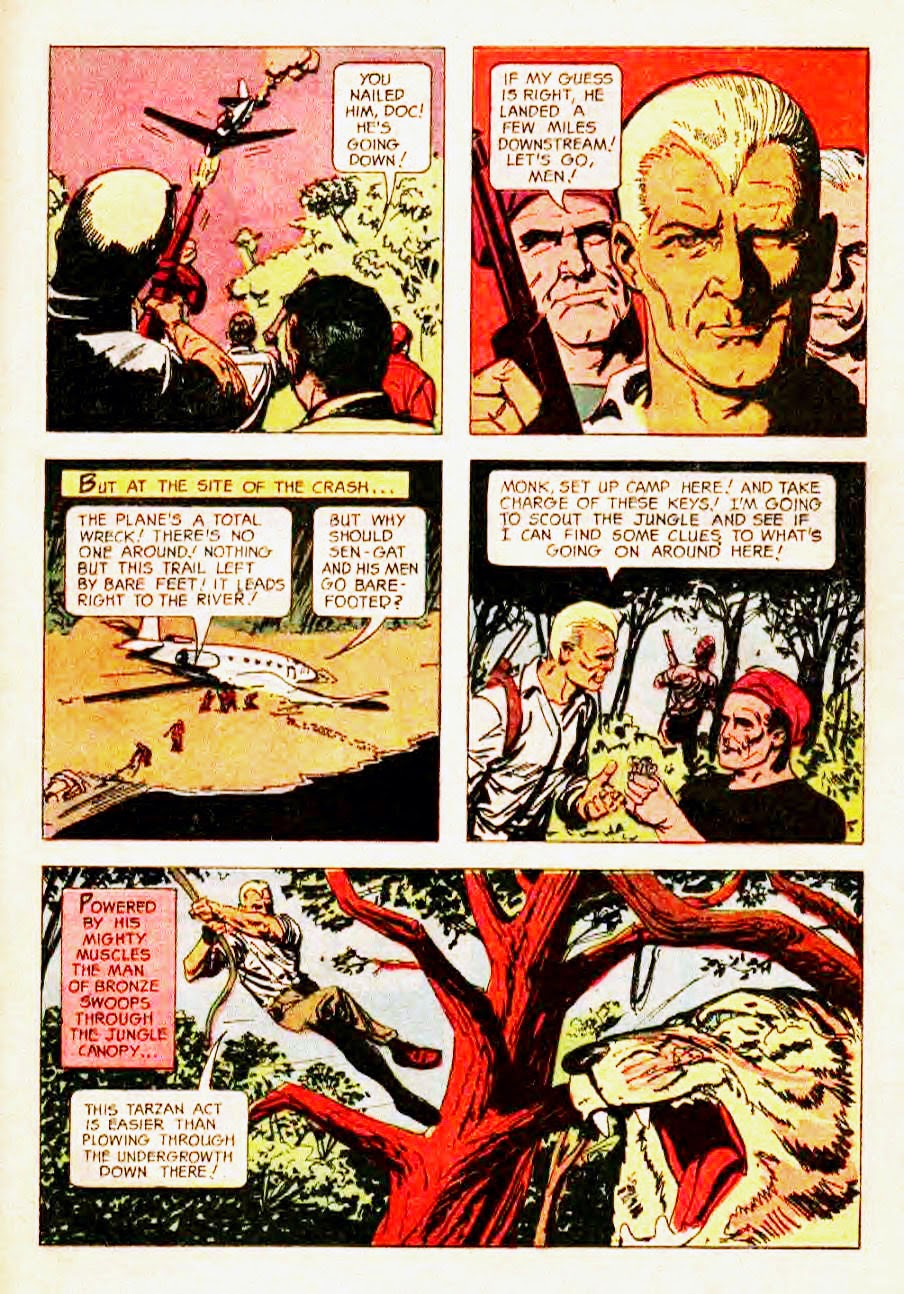 Read online Doc Savage (1966) comic -  Issue # Full - 25
