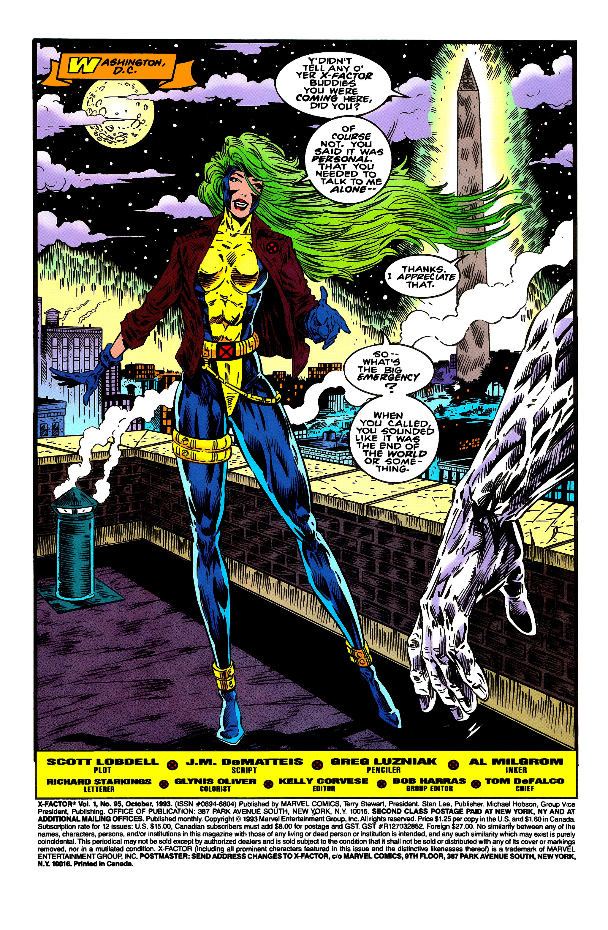 Read online X-Factor (1986) comic -  Issue #95 - 2