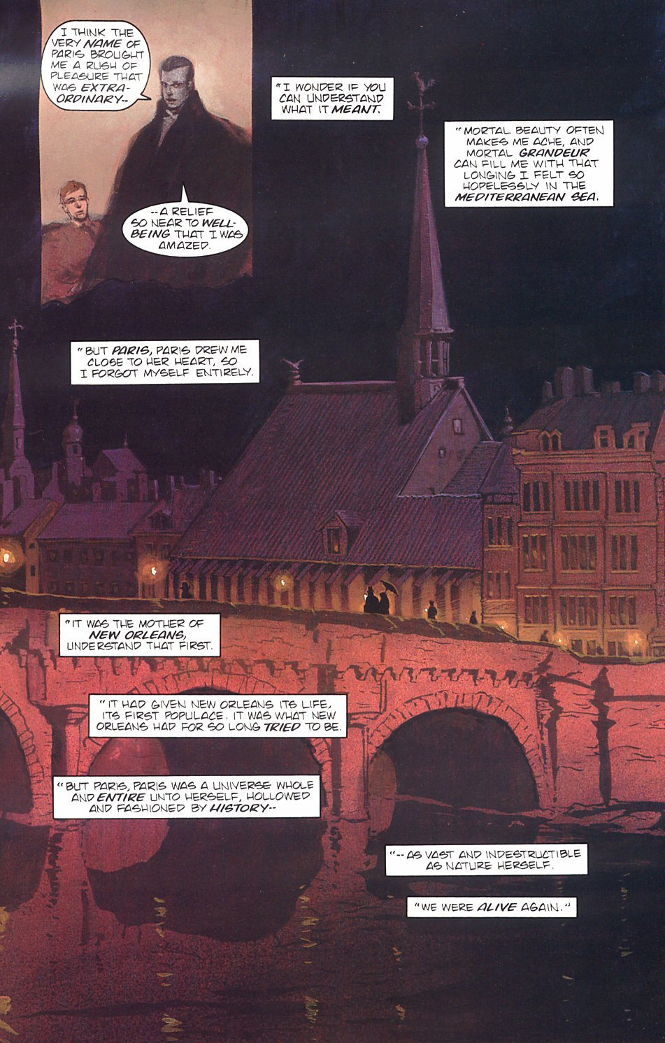 Read online Anne Rice's Interview with the Vampire comic -  Issue #7 - 24