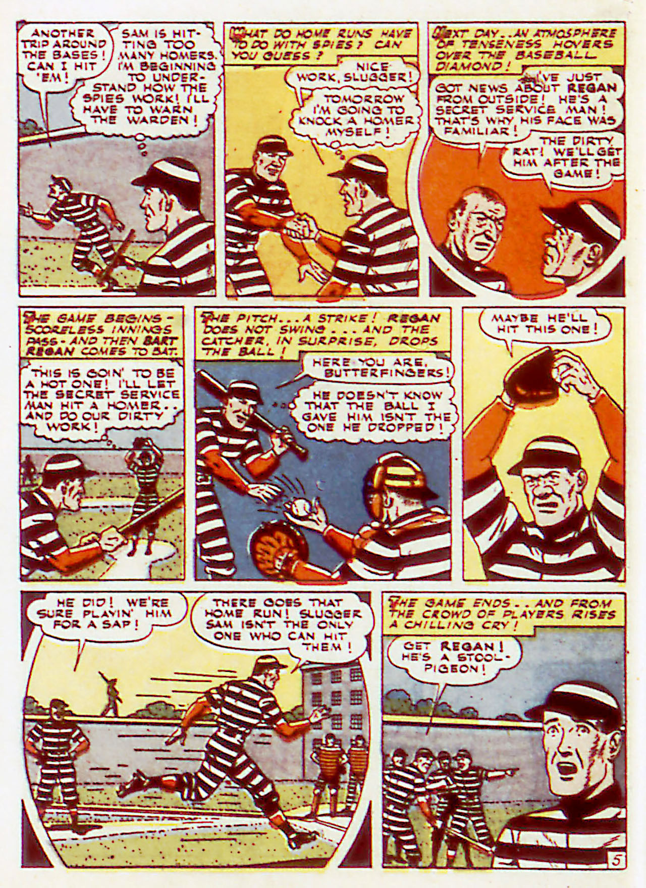 Read online Detective Comics (1937) comic -  Issue #71 - 46