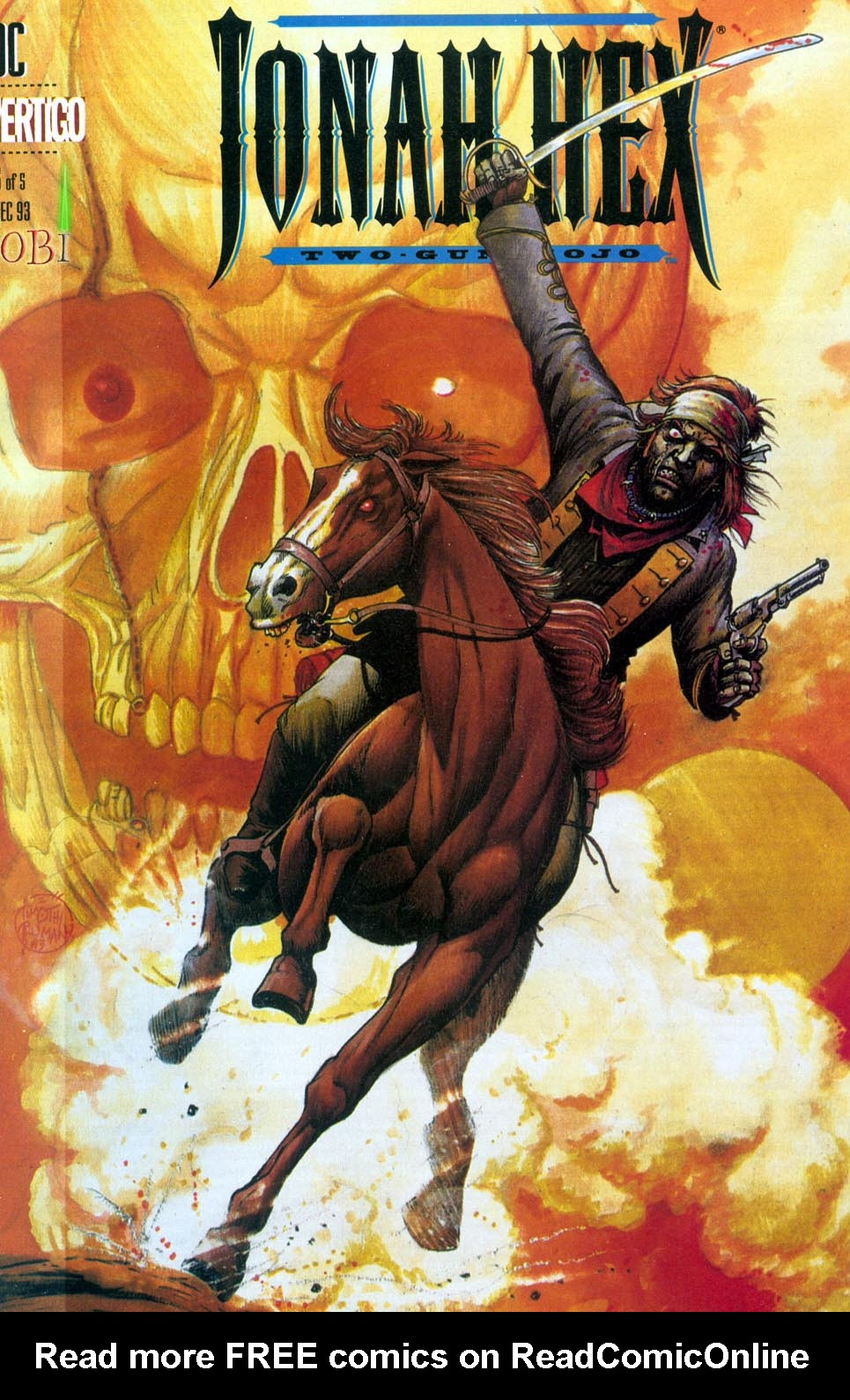 Jonah Hex - Two-Gun Mojo issue 5 - Page 1