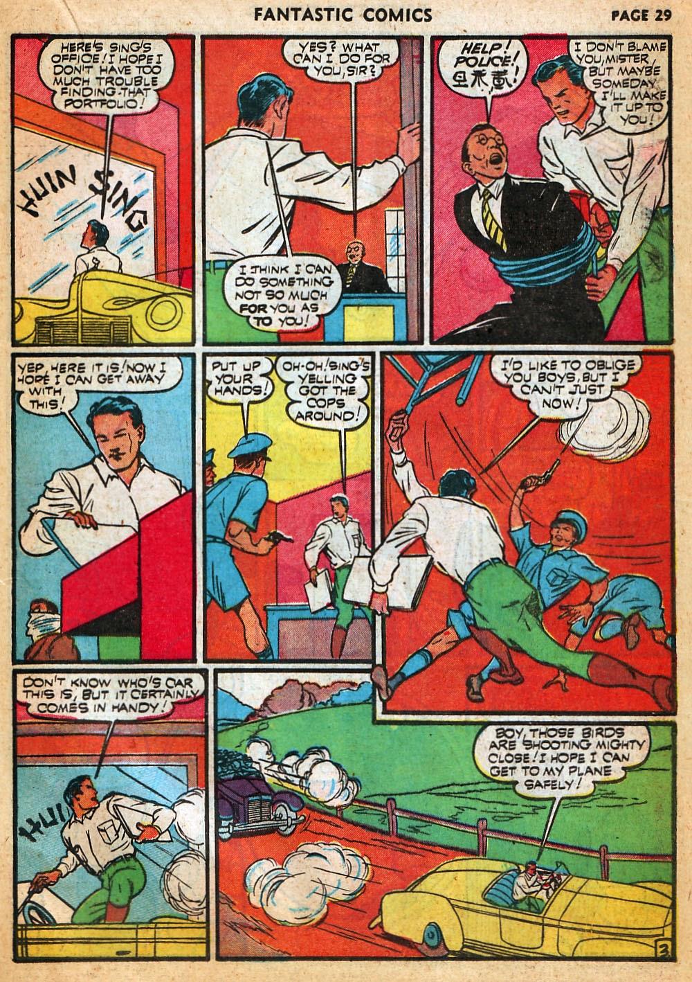 Read online Fantastic Comics comic -  Issue #22 - 31