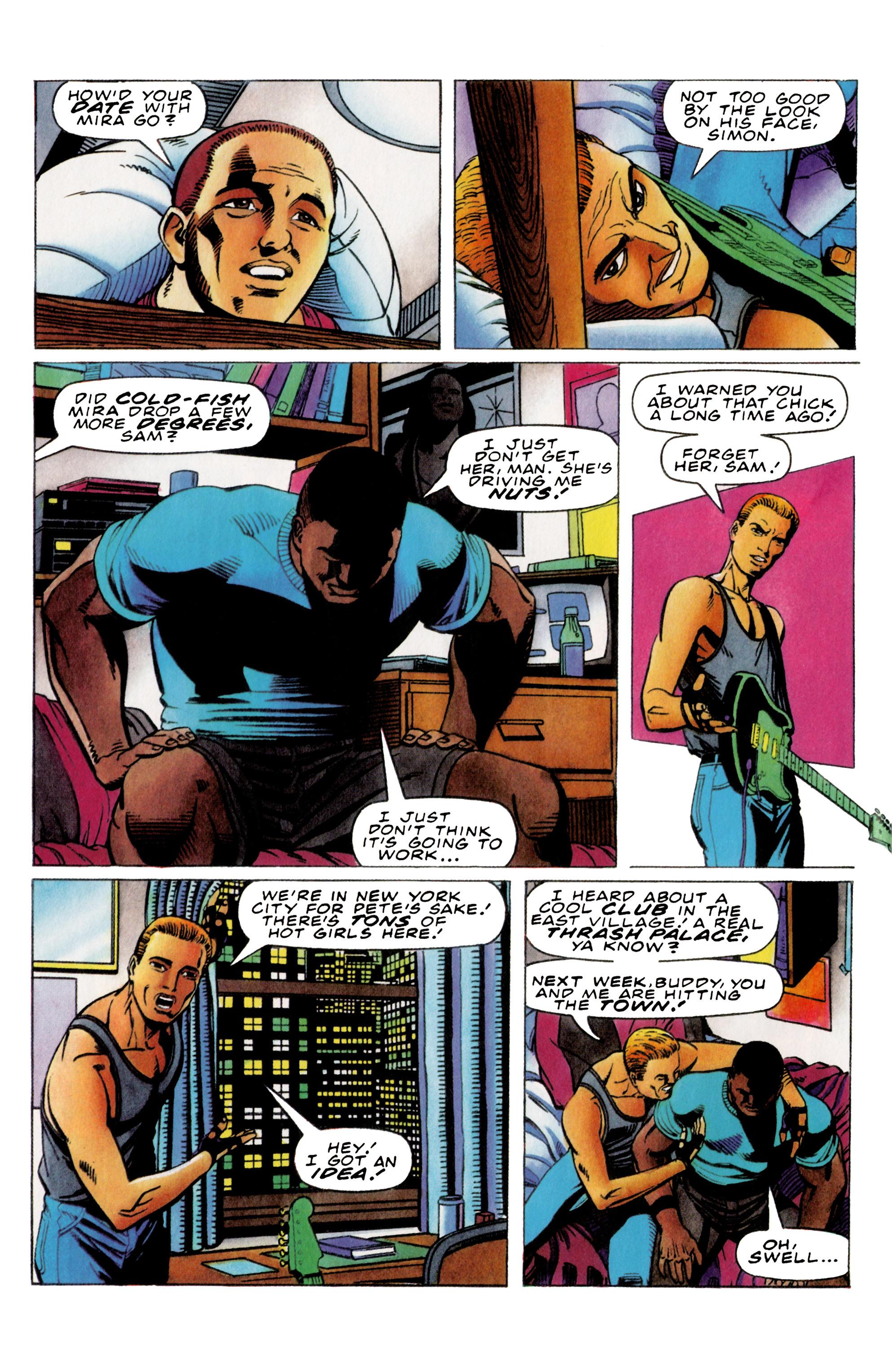 Read online Harbinger (1992) comic -  Issue #36 - 15