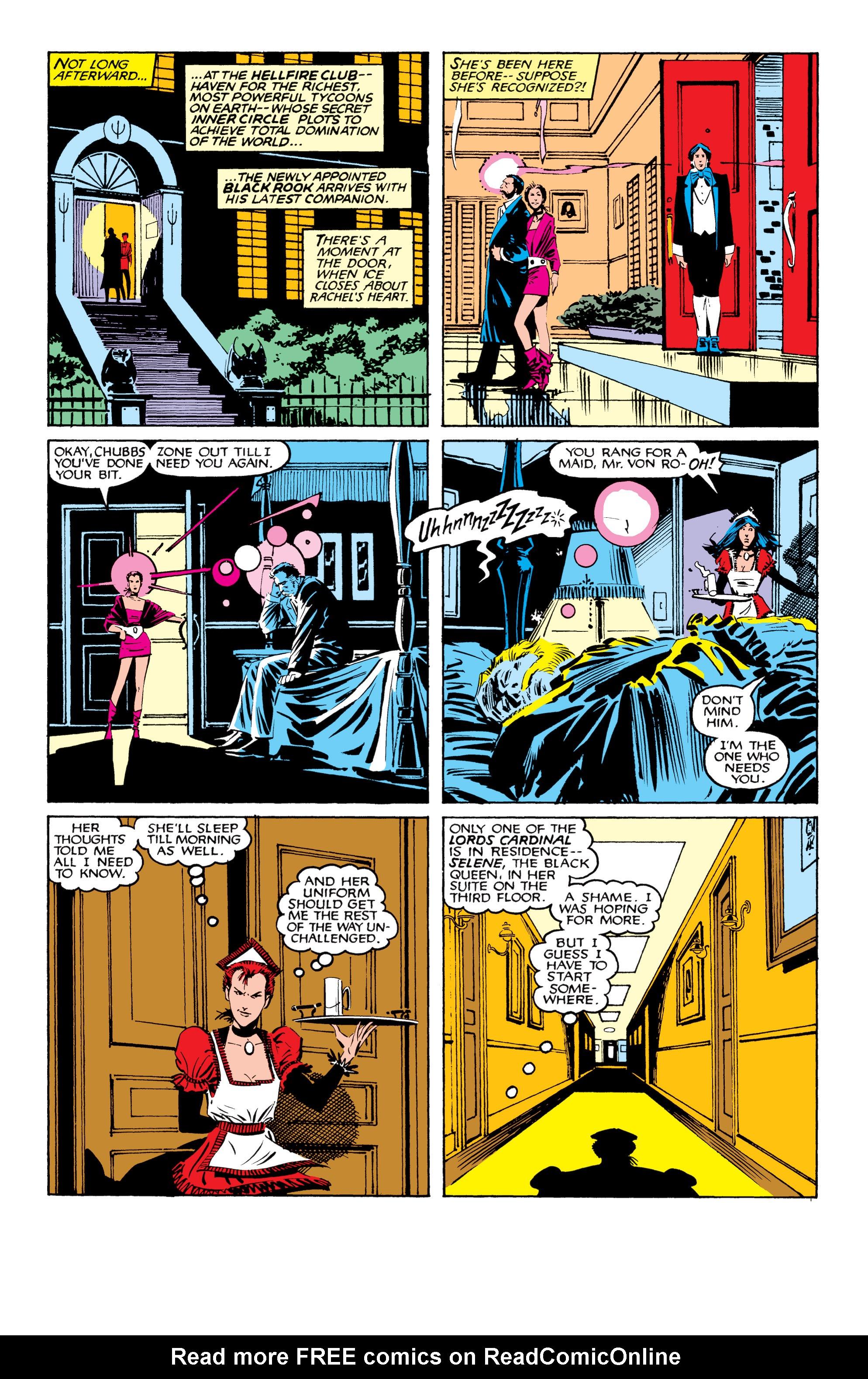 Read online Uncanny X-Men (1963) comic -  Issue #207 - 19