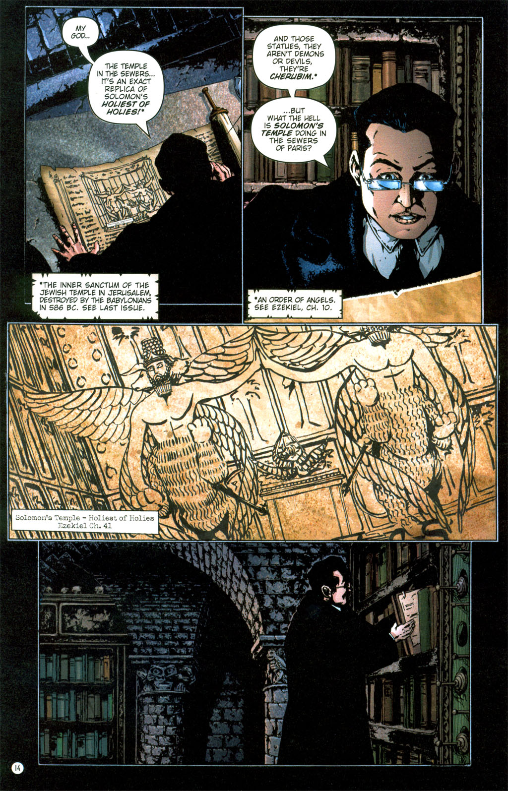 Read online Rex Mundi comic -  Issue #6 - 17