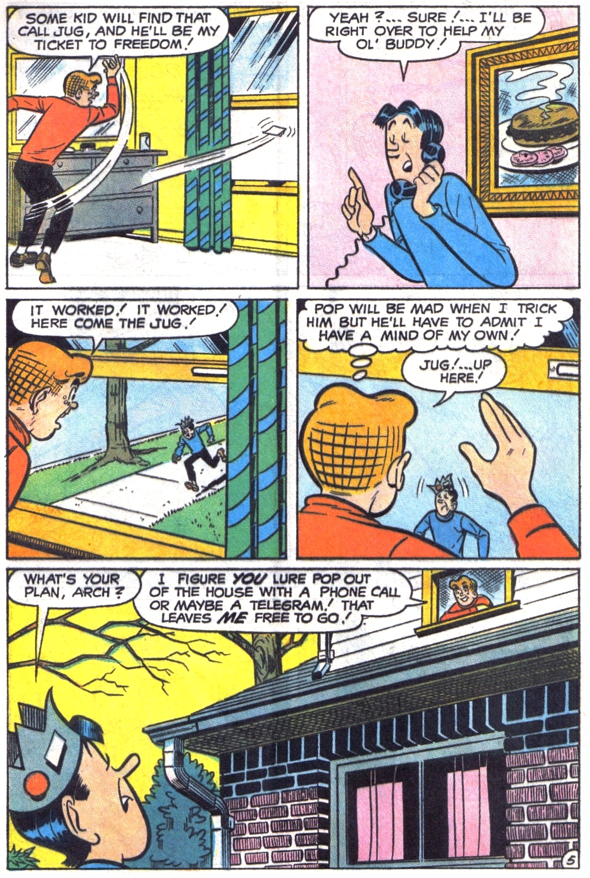 Read online Archie (1960) comic -  Issue #190 - 32