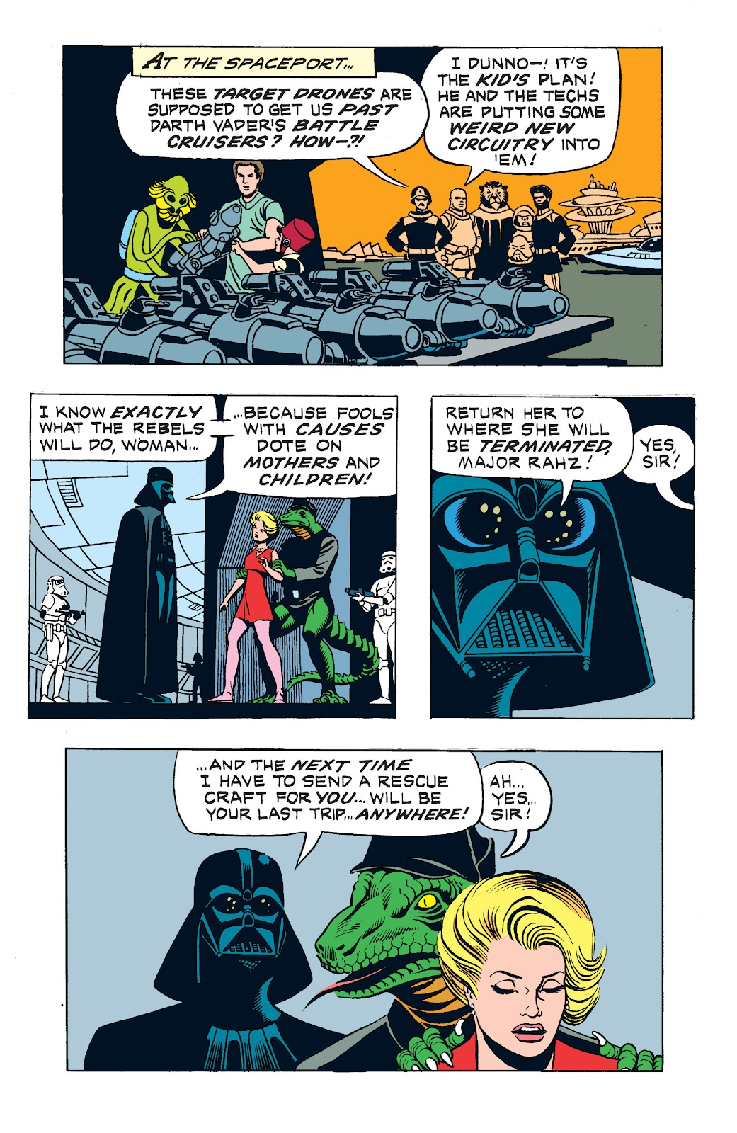 Read online Star Wars Legends: The Newspaper Strips - Epic Collection comic -  Issue # TPB (Part 3) - 13