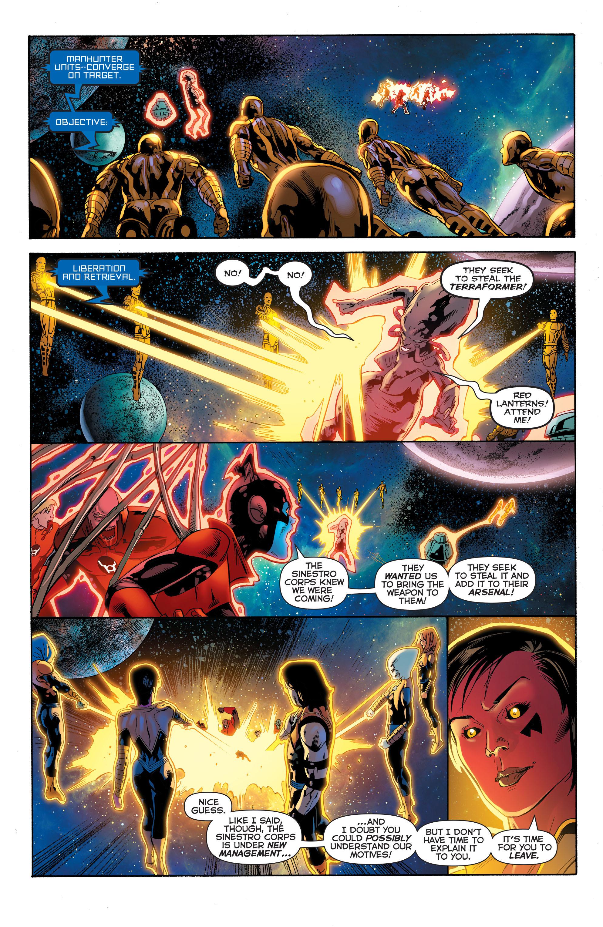 Read online Sinestro comic -  Issue #23 - 9