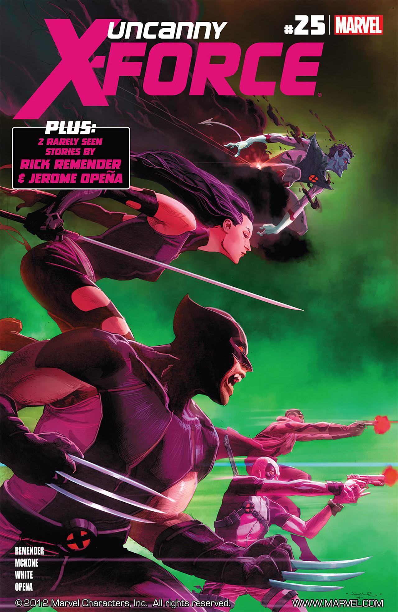 Uncanny X-Force (2010) #25 #27 - English 1