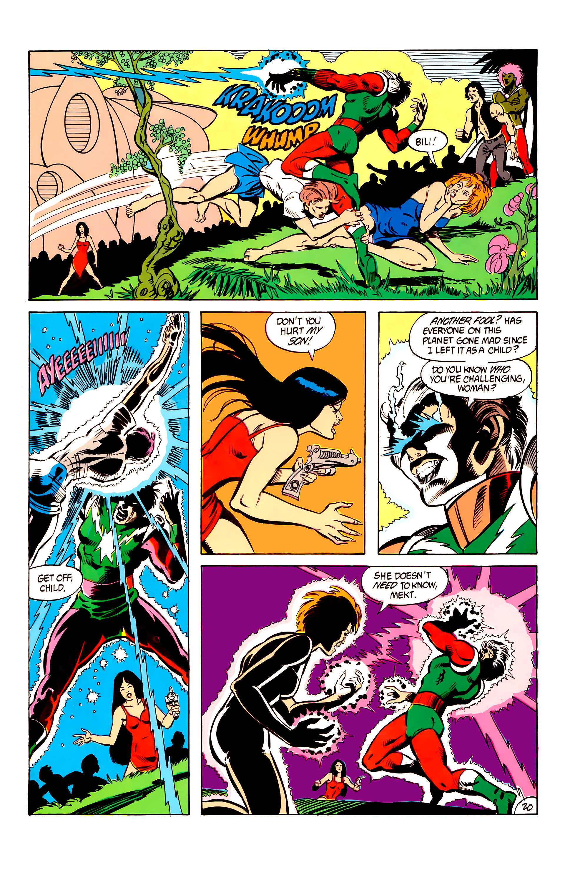 Legion of Super-Heroes (1984) 6 Page 20