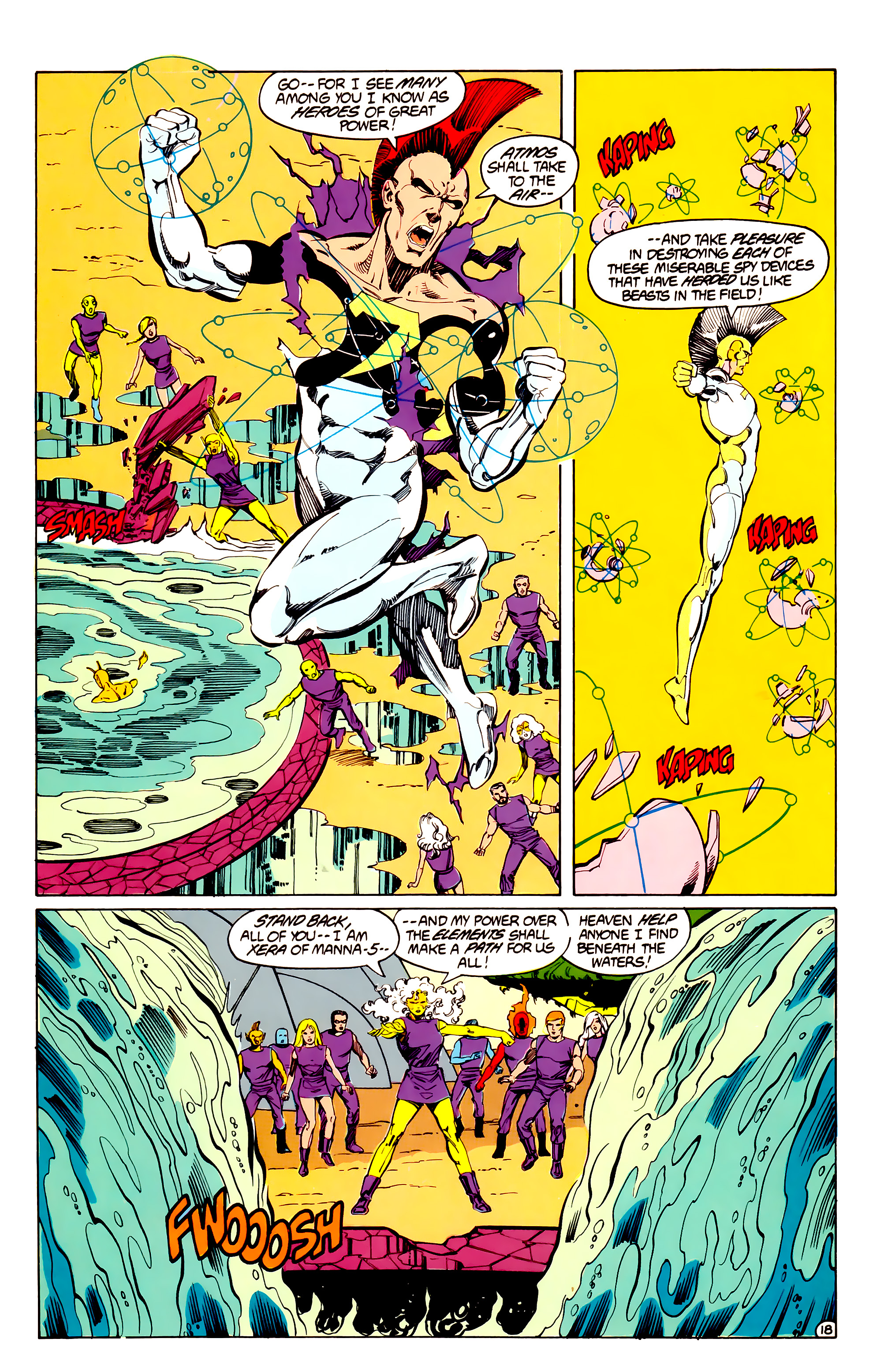 Legion of Super-Heroes (1984) 33 Page 18