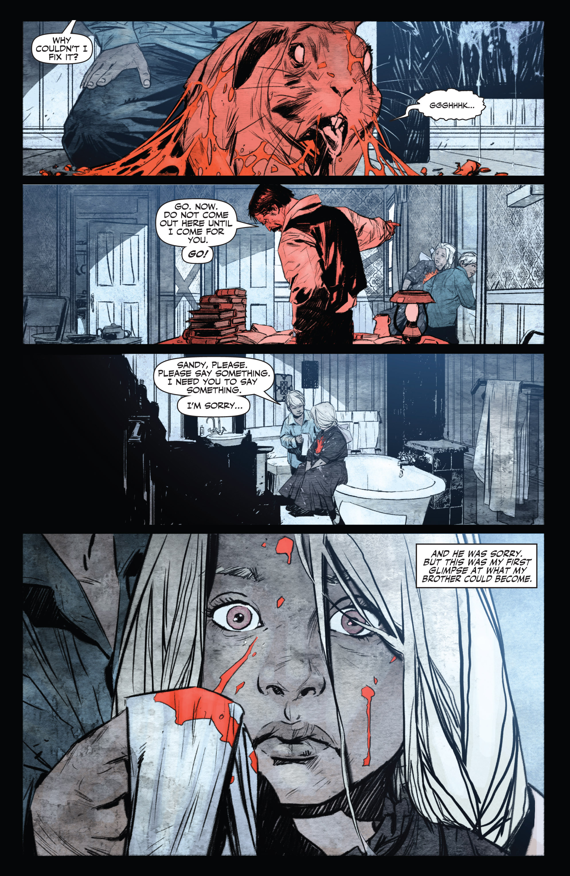 Read online Shadowman (2012) comic -  Issue #0 - 11