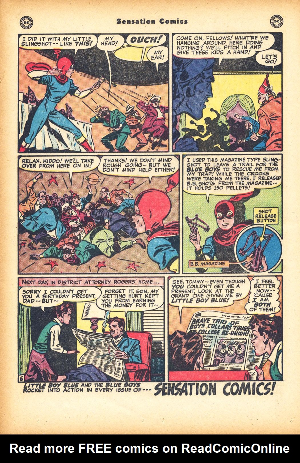 Read online Sensation (Mystery) Comics comic -  Issue #78 - 22