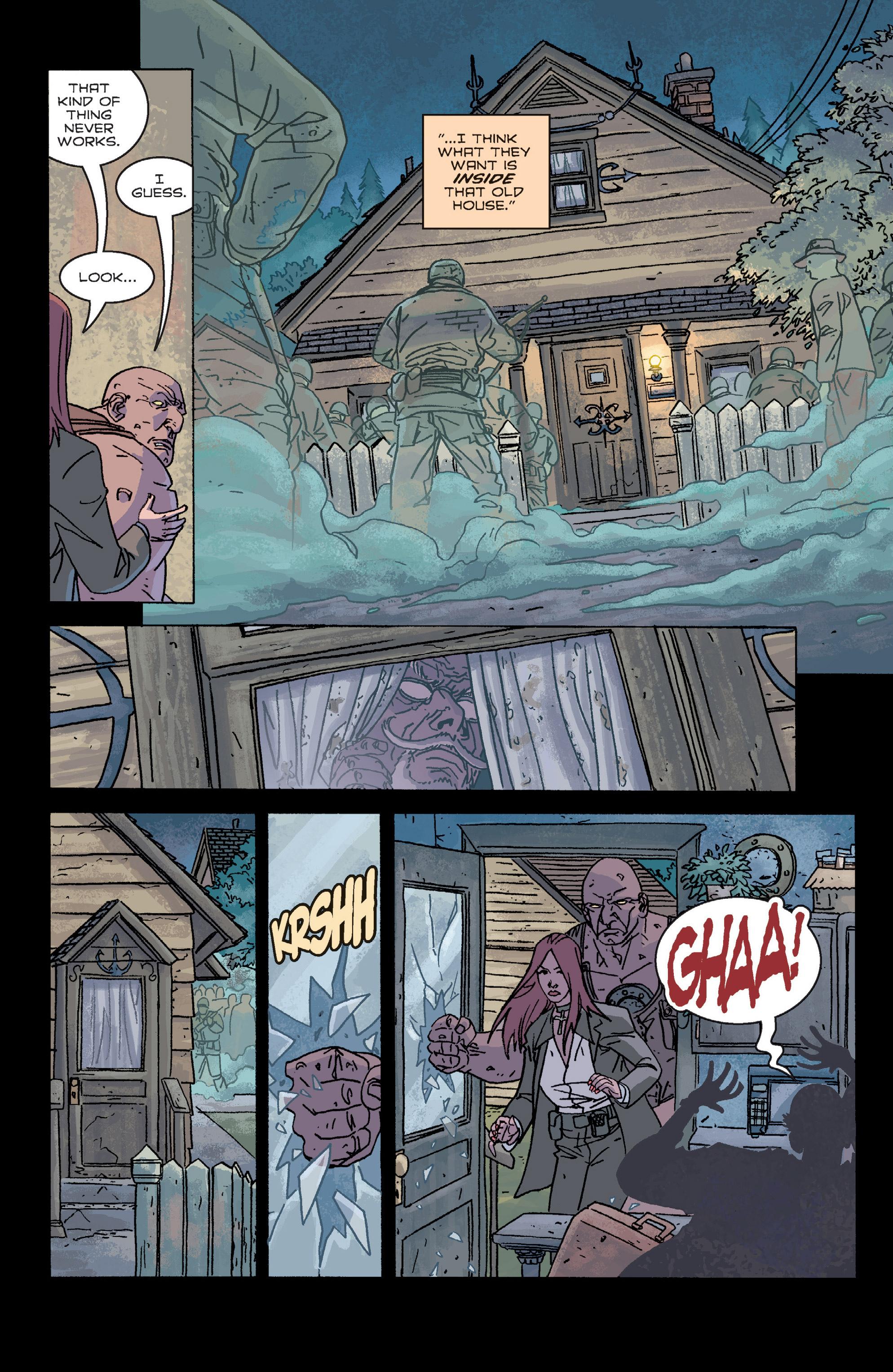 Read online B.P.R.D. (2003) comic -  Issue # TPB 2 - 73