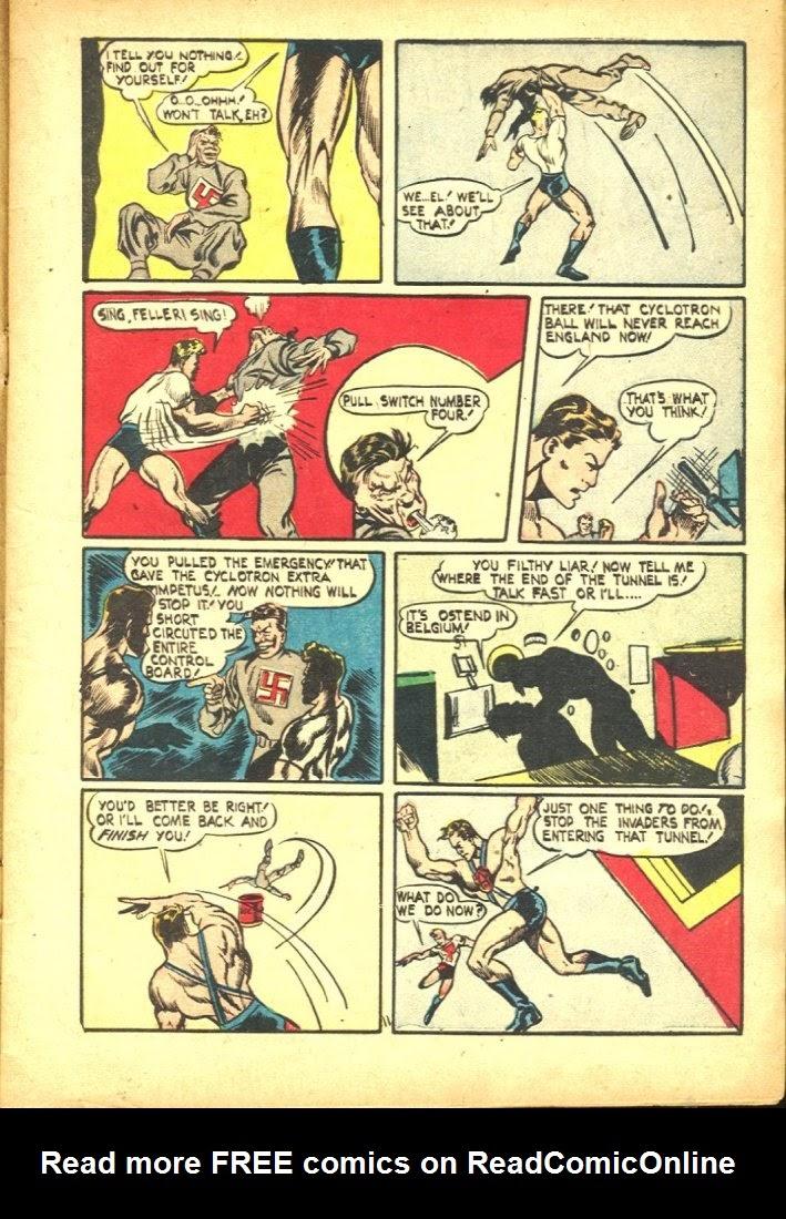Read online Amazing Man Comics comic -  Issue #25 - 13