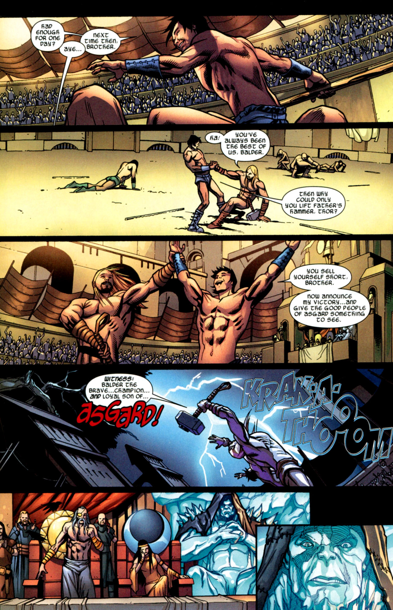 Read online Ultimate Thor comic -  Issue #2 - 11