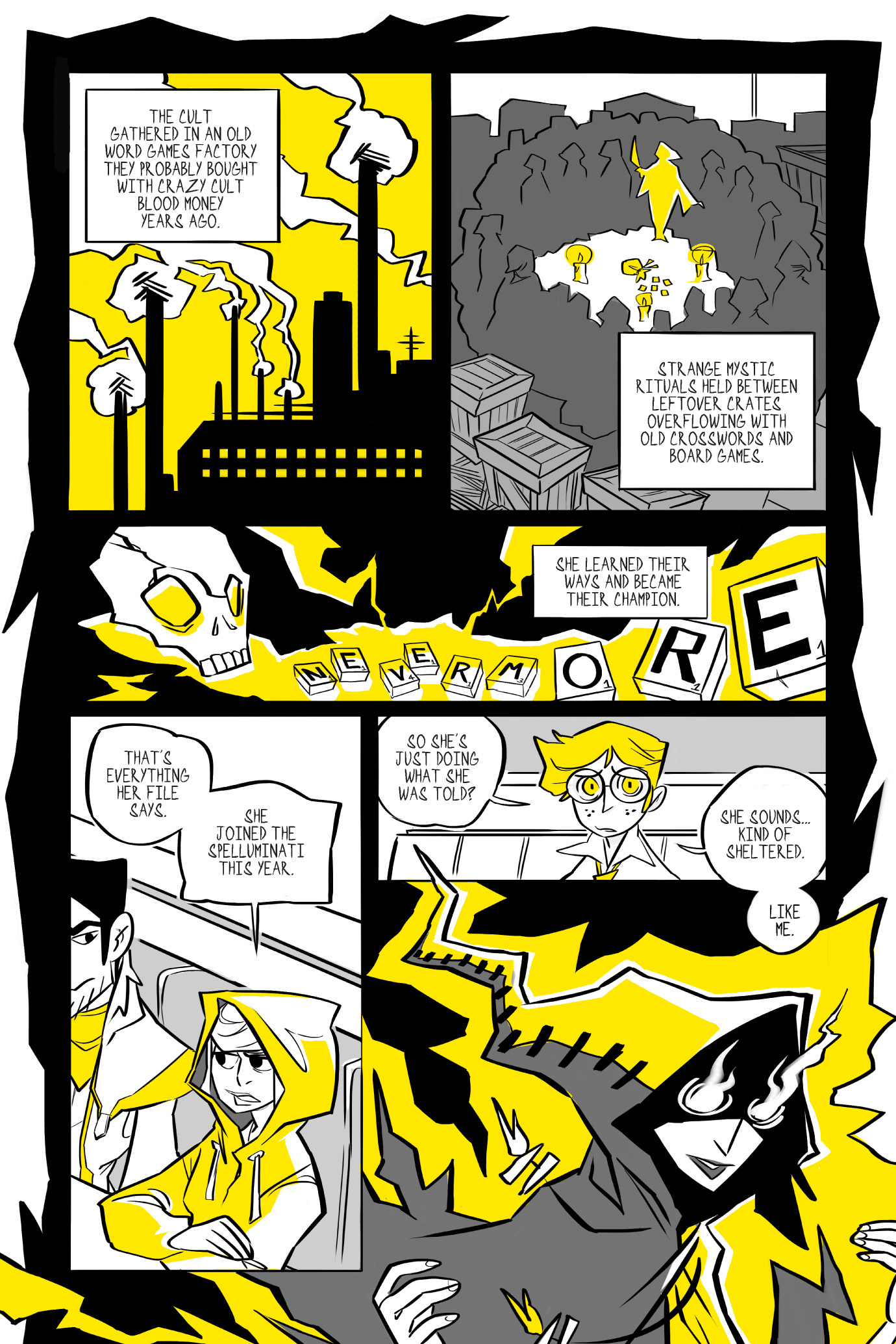 Read online BUZZ! comic -  Issue # TPB - 92