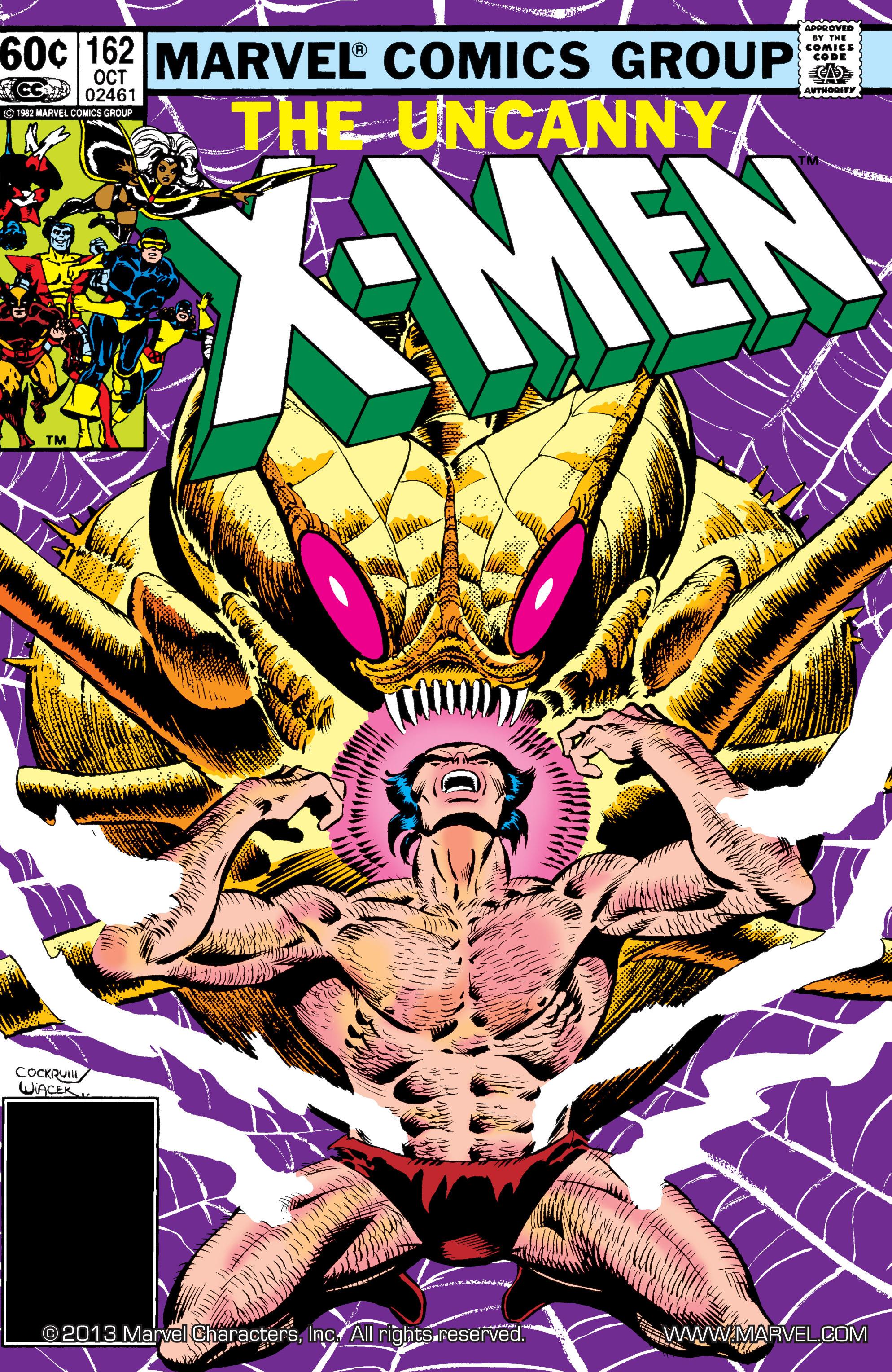 Uncanny X-Men (1963) 162 Page 1