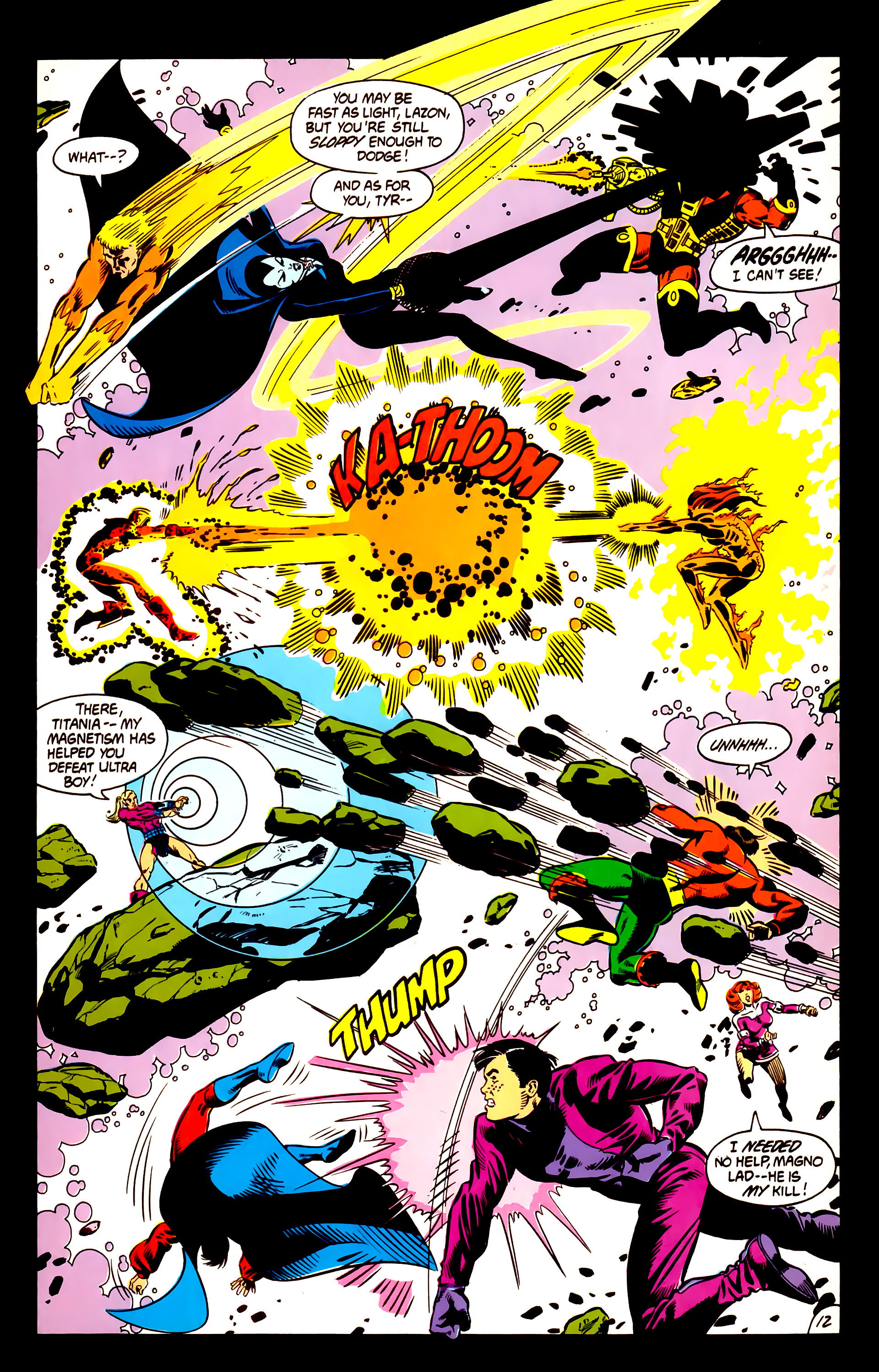 Legion of Super-Heroes (1984) 3 Page 13