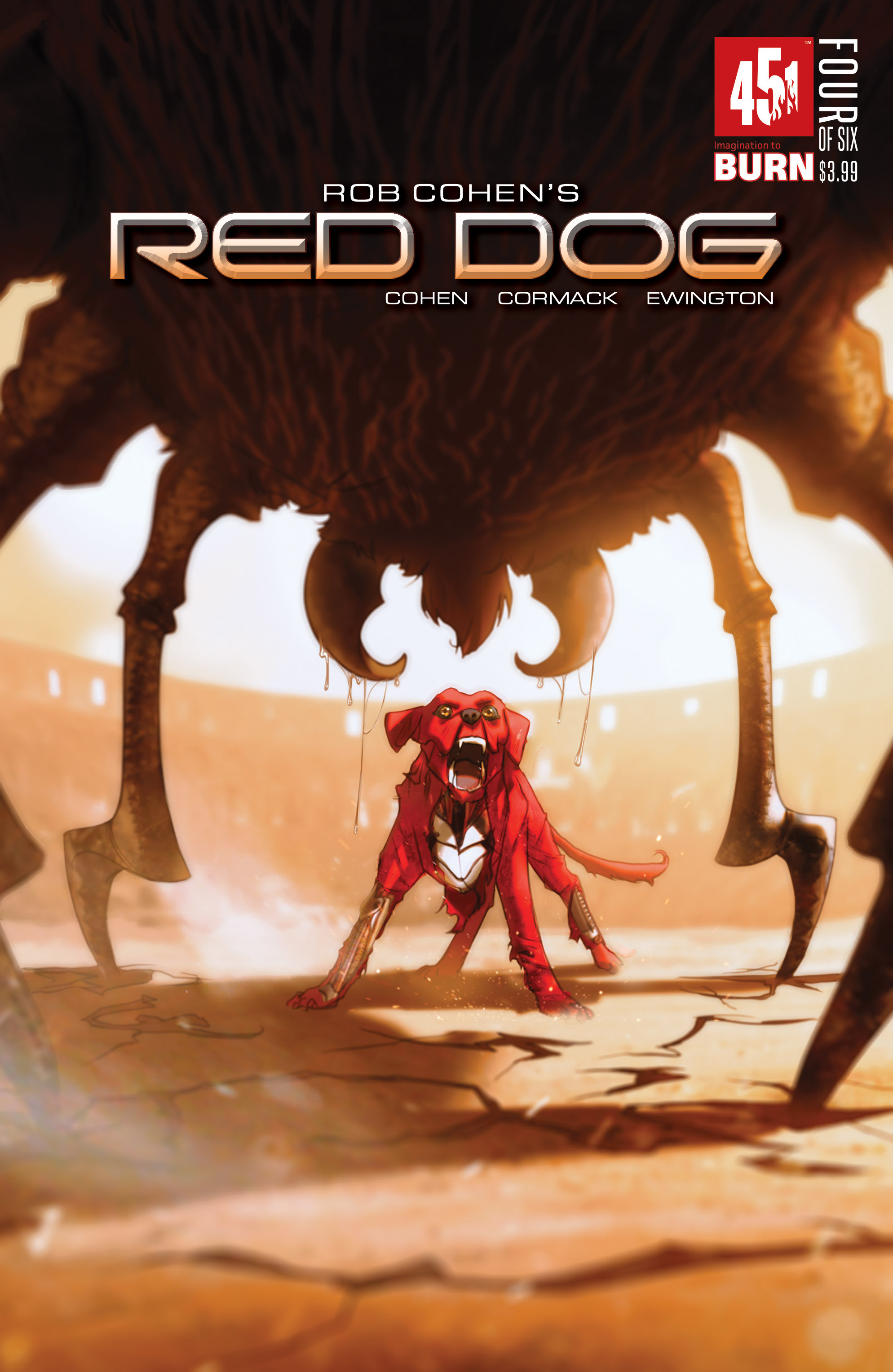 Read online Red Dog comic -  Issue #4 - 1