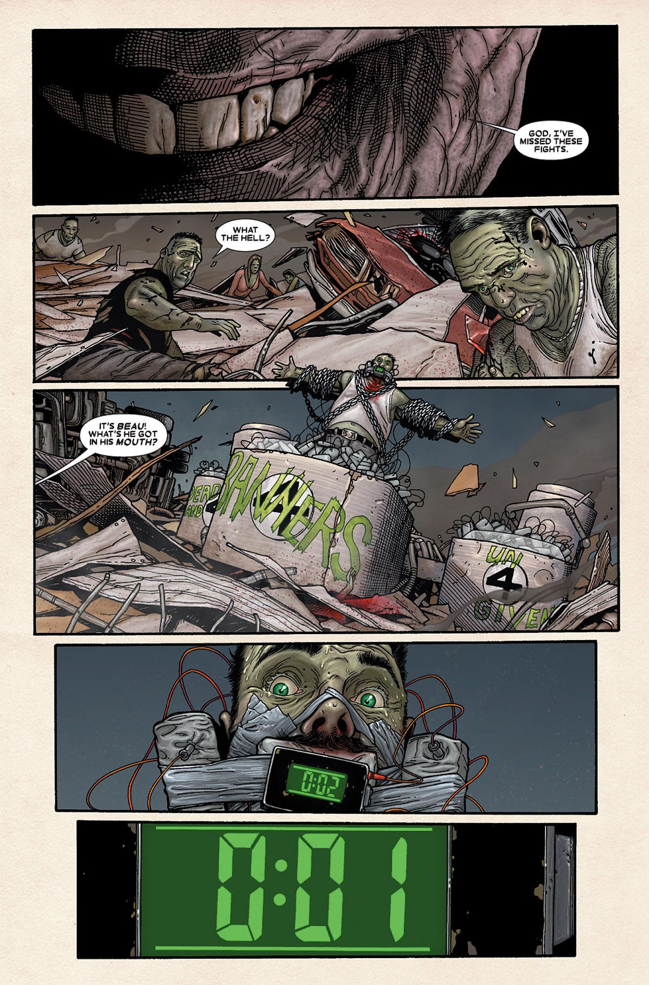Read online Wolverine: Old Man Logan comic -  Issue # Full - 177