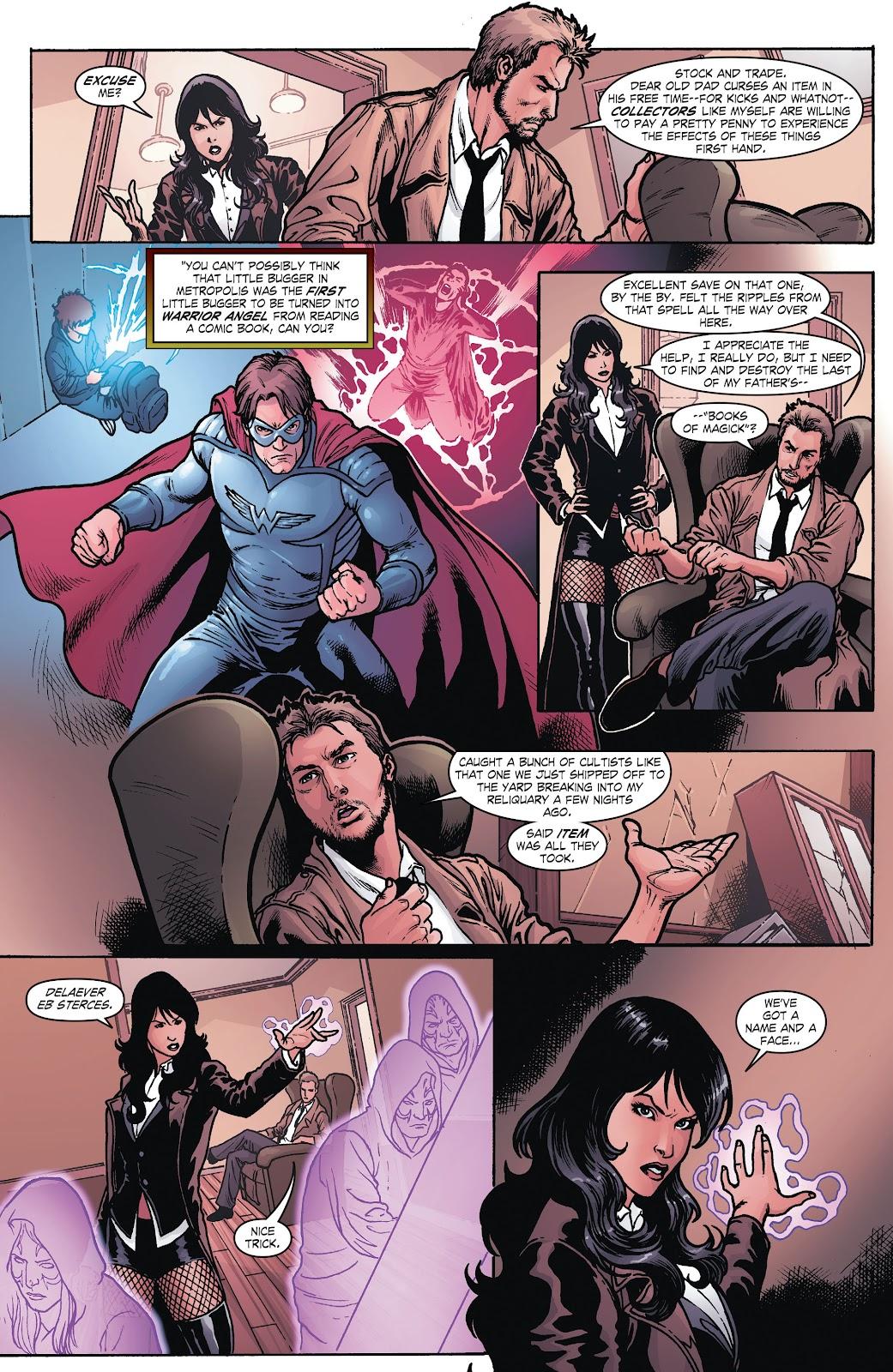 Read online Smallville Season 11 [II] comic -  Issue # TPB 8 - 22