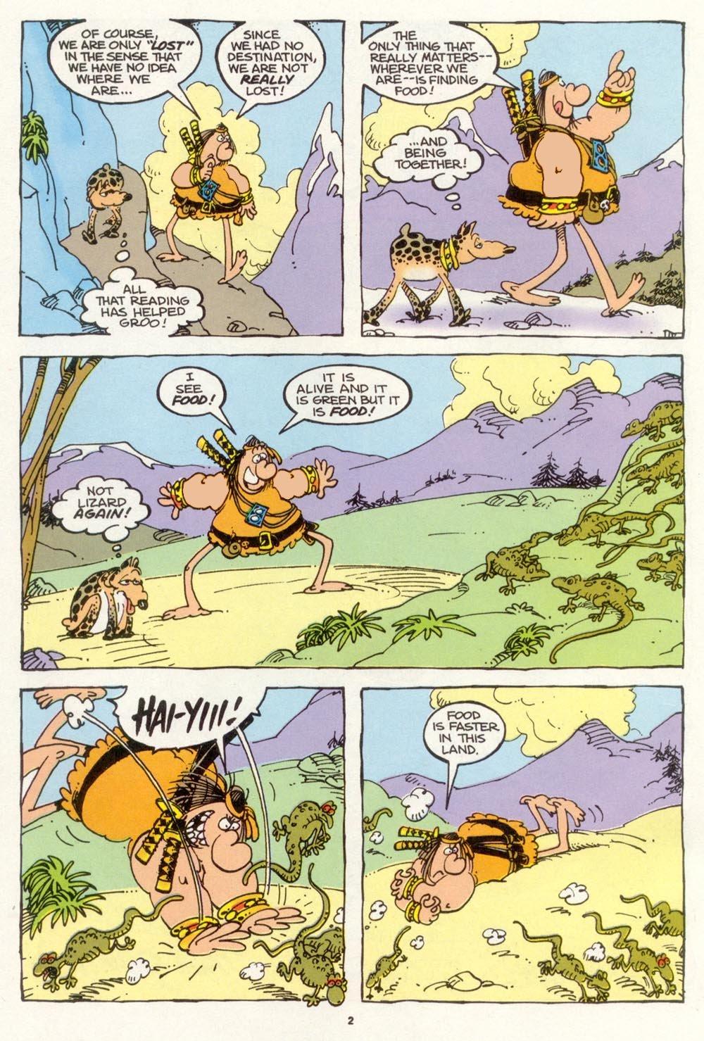 Read online Sergio Aragonés Groo the Wanderer comic -  Issue #103 - 5