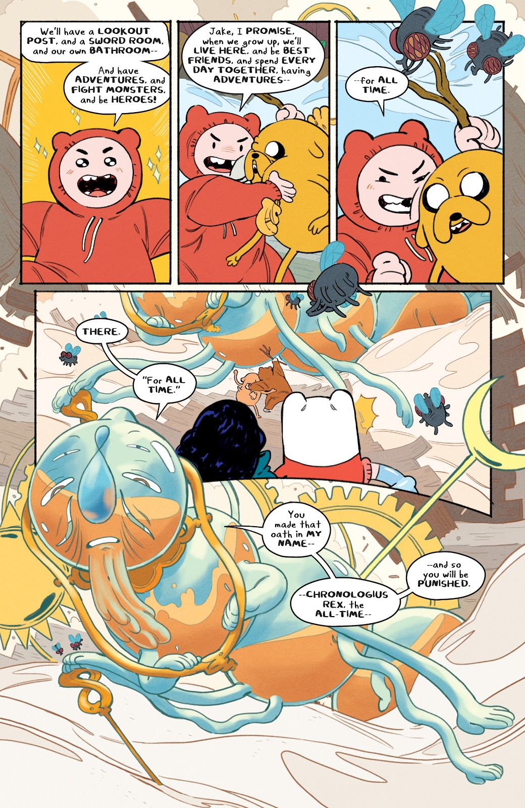Read online Adventure Time: Beginning of the End comic -  Issue # _TPB - 22