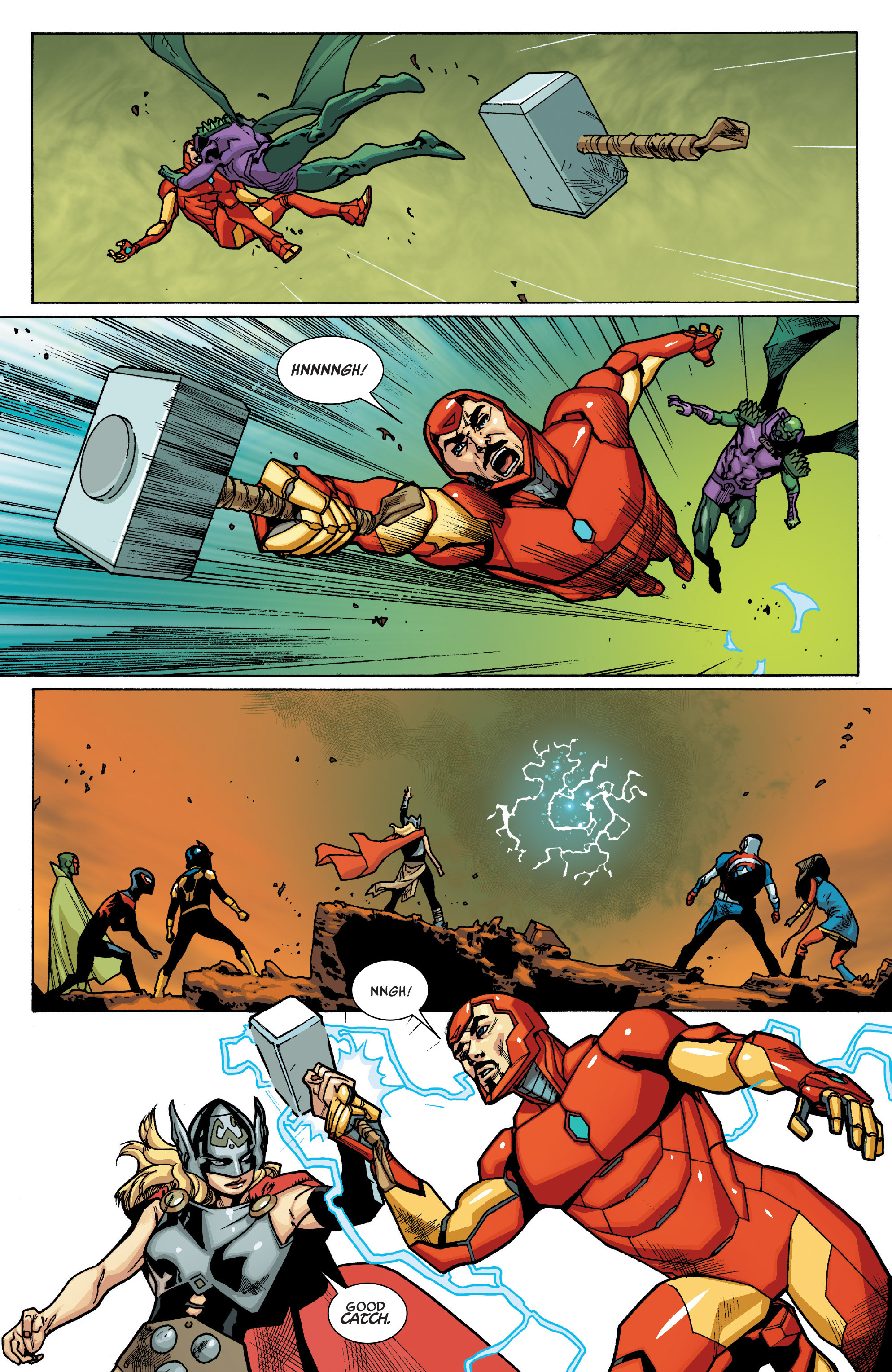 Read online All-New, All-Different Avengers comic -  Issue #12 - 19