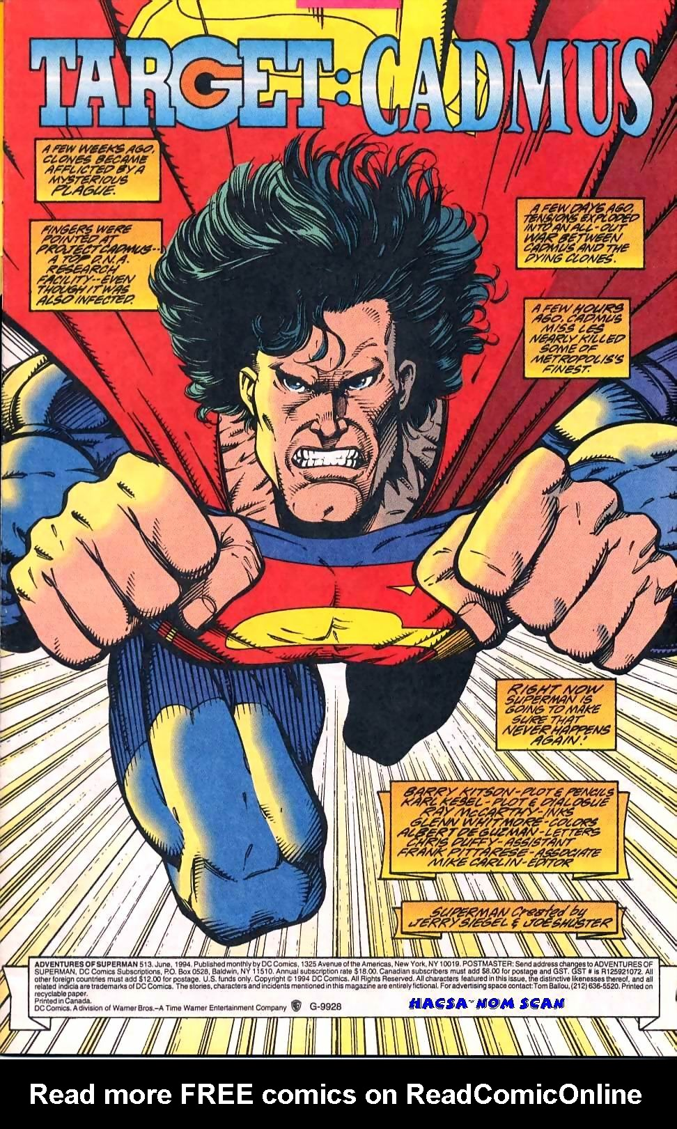 Read online Adventures of Superman (1987) comic -  Issue #513 - 2