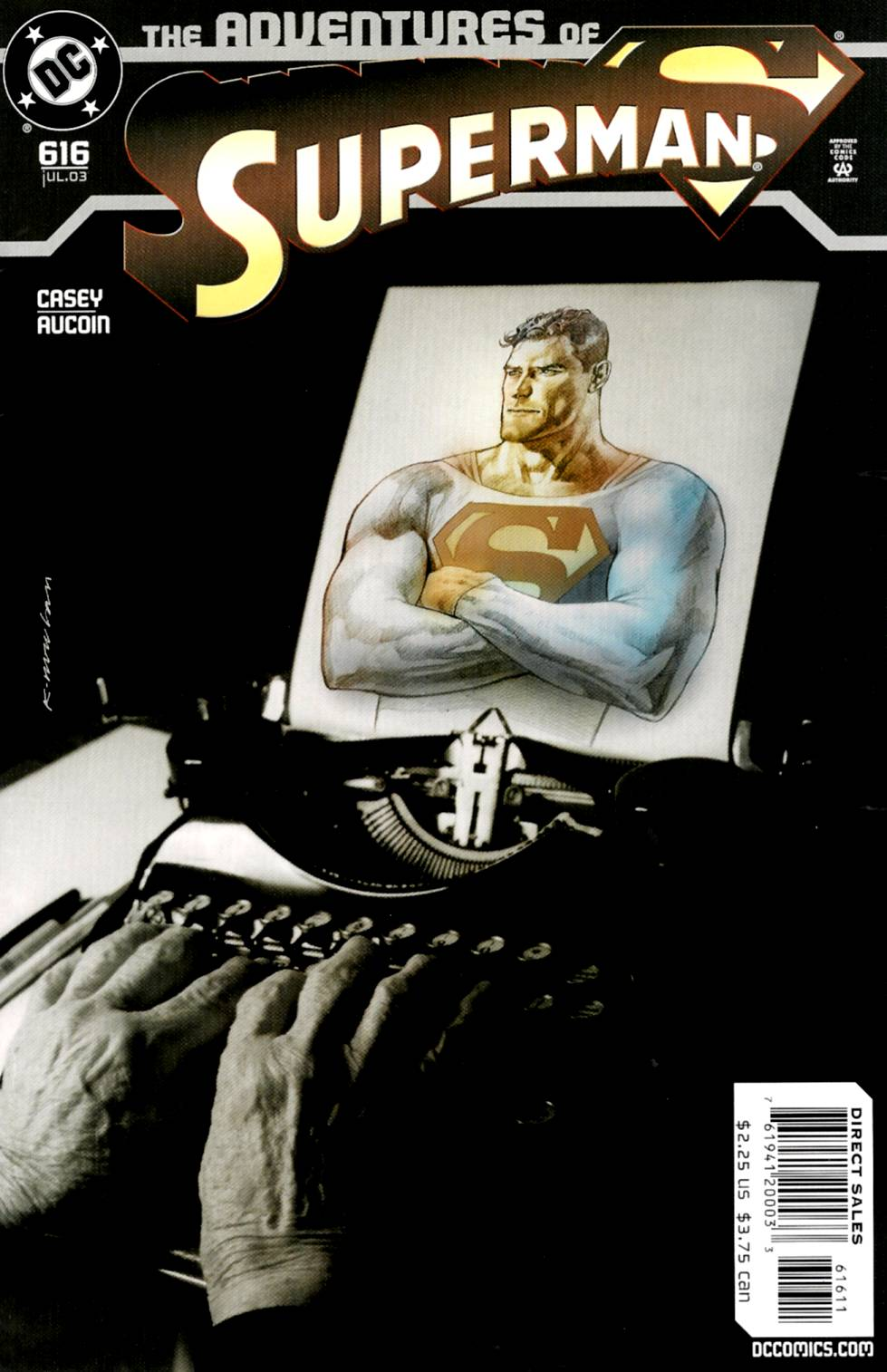 Read online Adventures of Superman (1987) comic -  Issue #616 - 1