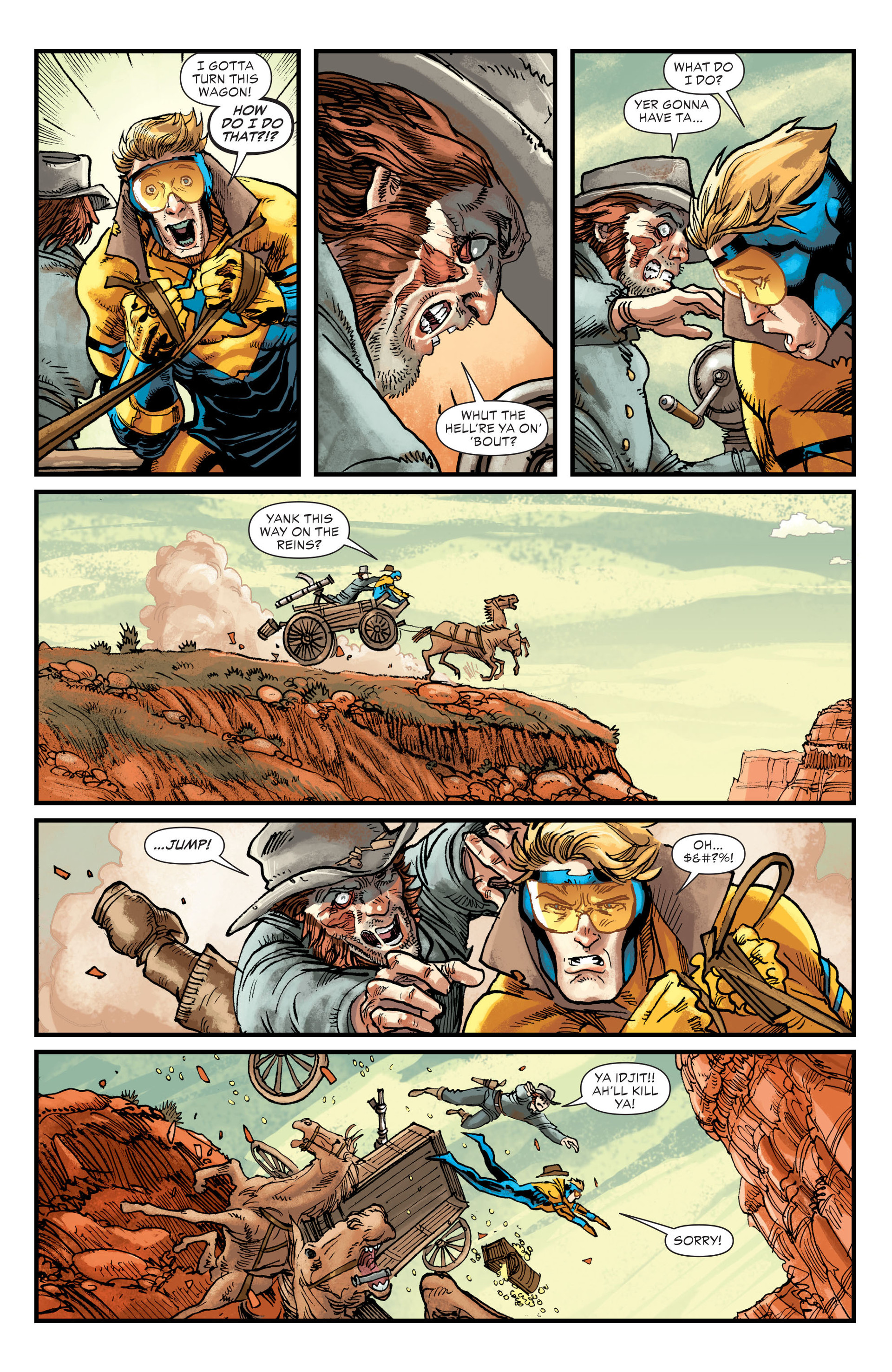 Read online All-Star Western (2011) comic -  Issue #21 - 5