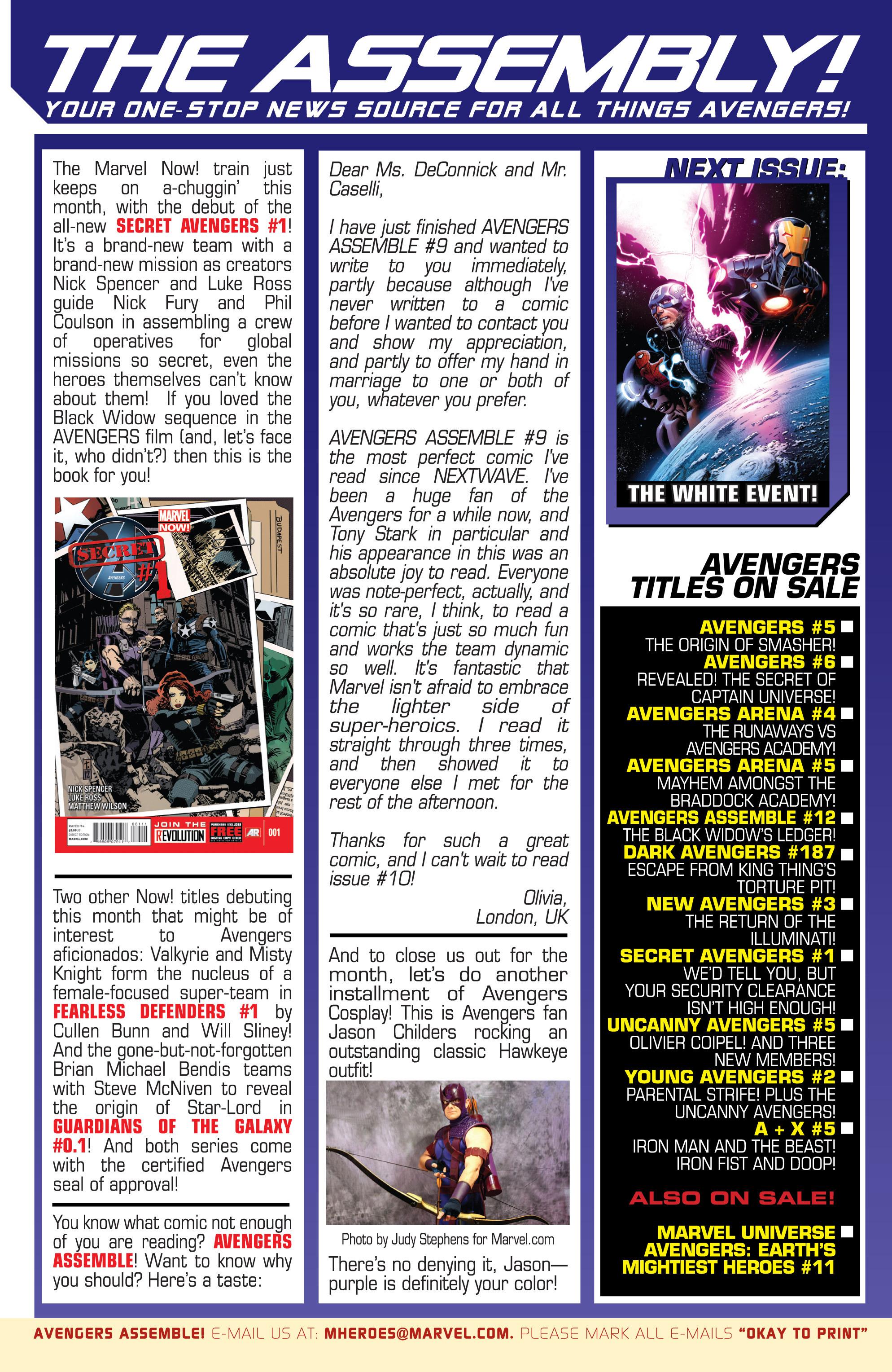 Read online Avengers (2013) comic -  Issue #Avengers (2013) _TPB 1 - 151