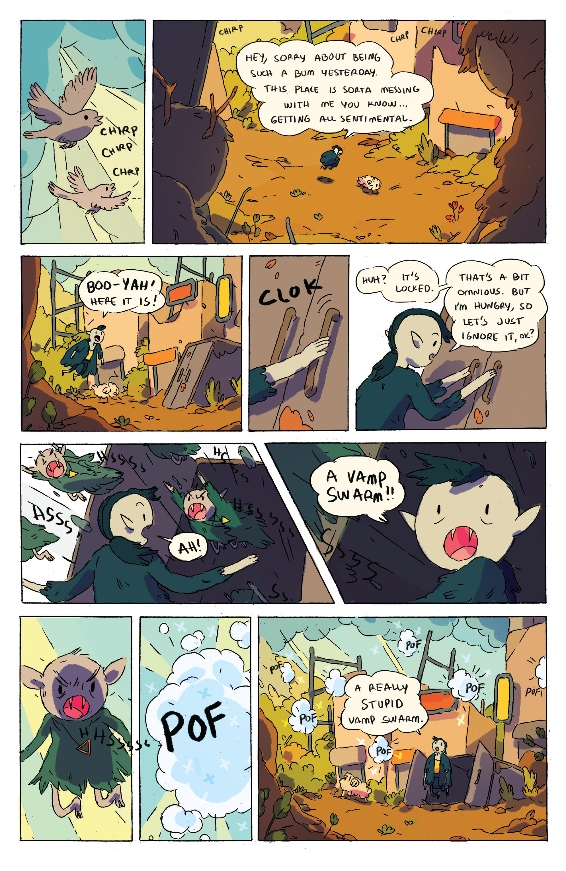 Read online Adventure Time comic -  Issue # _2015 Spoooktacular - 7